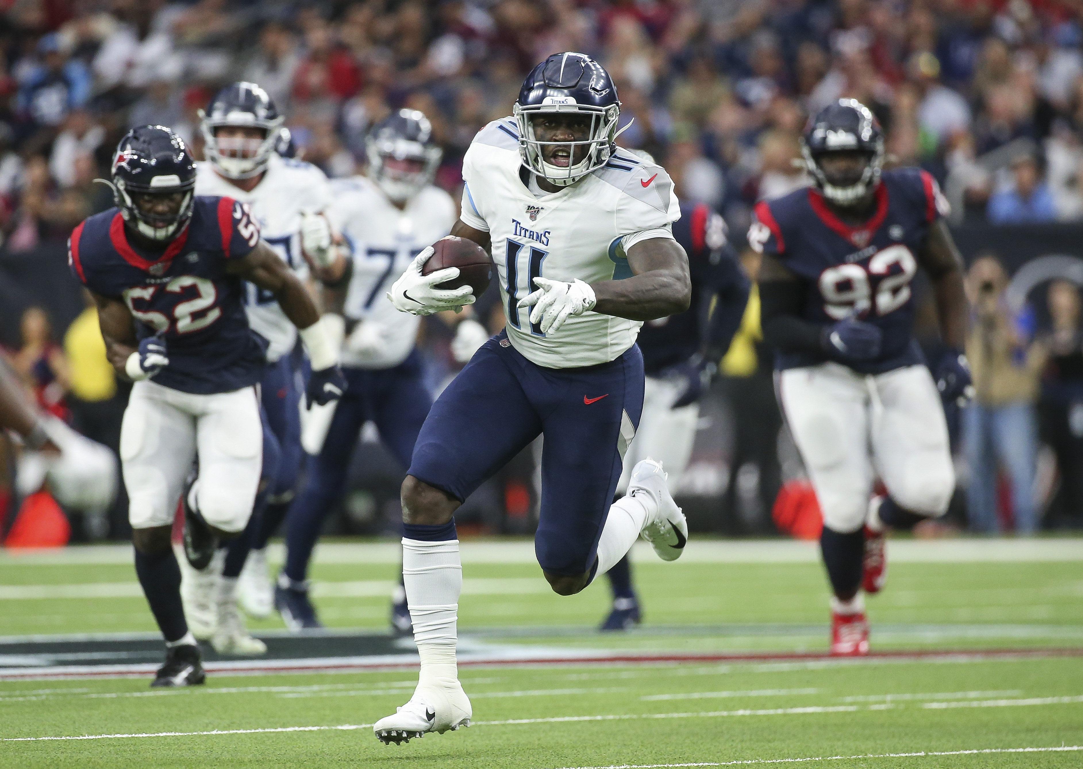 NFL:田纳西泰坦在休斯敦德州人
