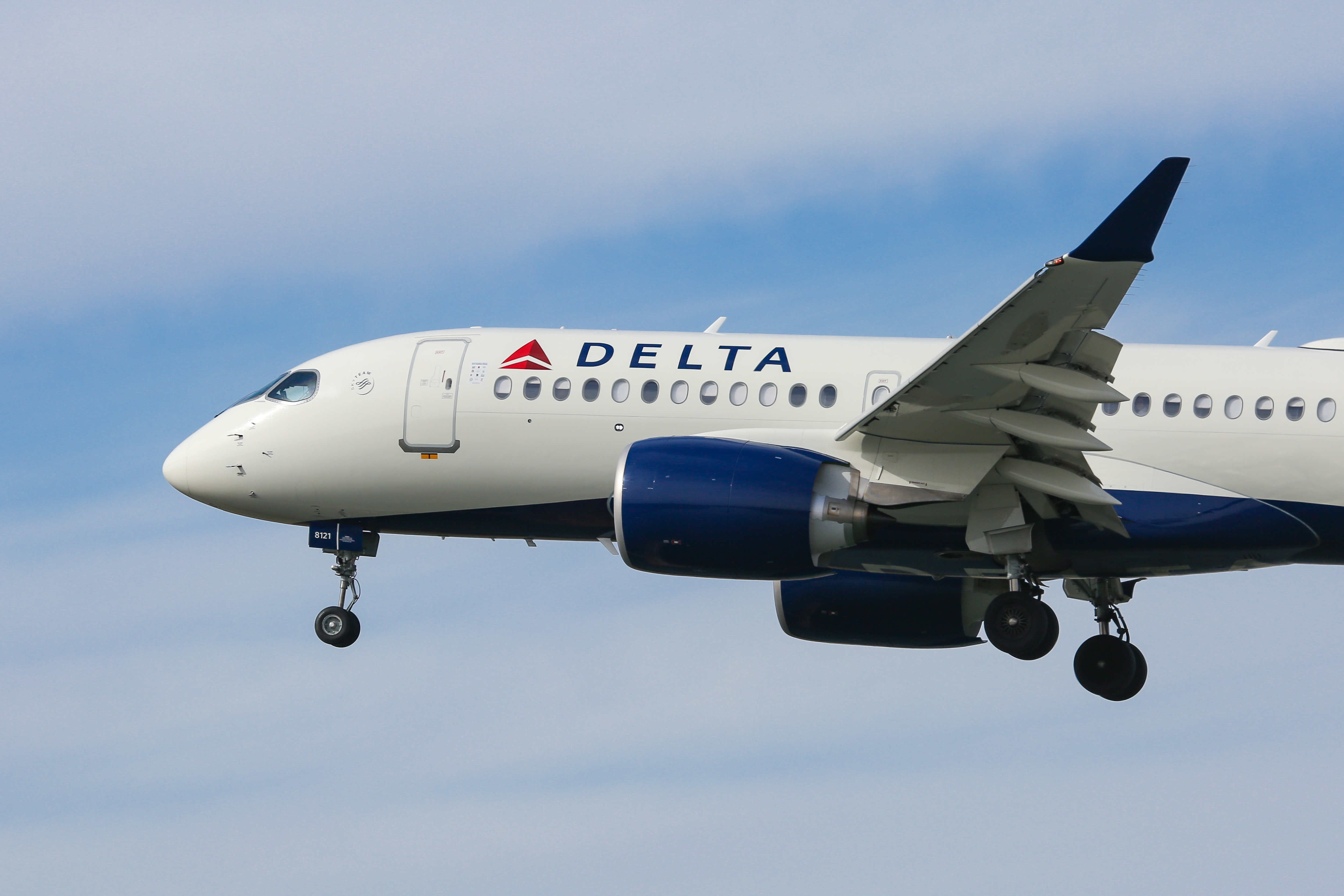 Delta Air Lines Airbus A220-100
