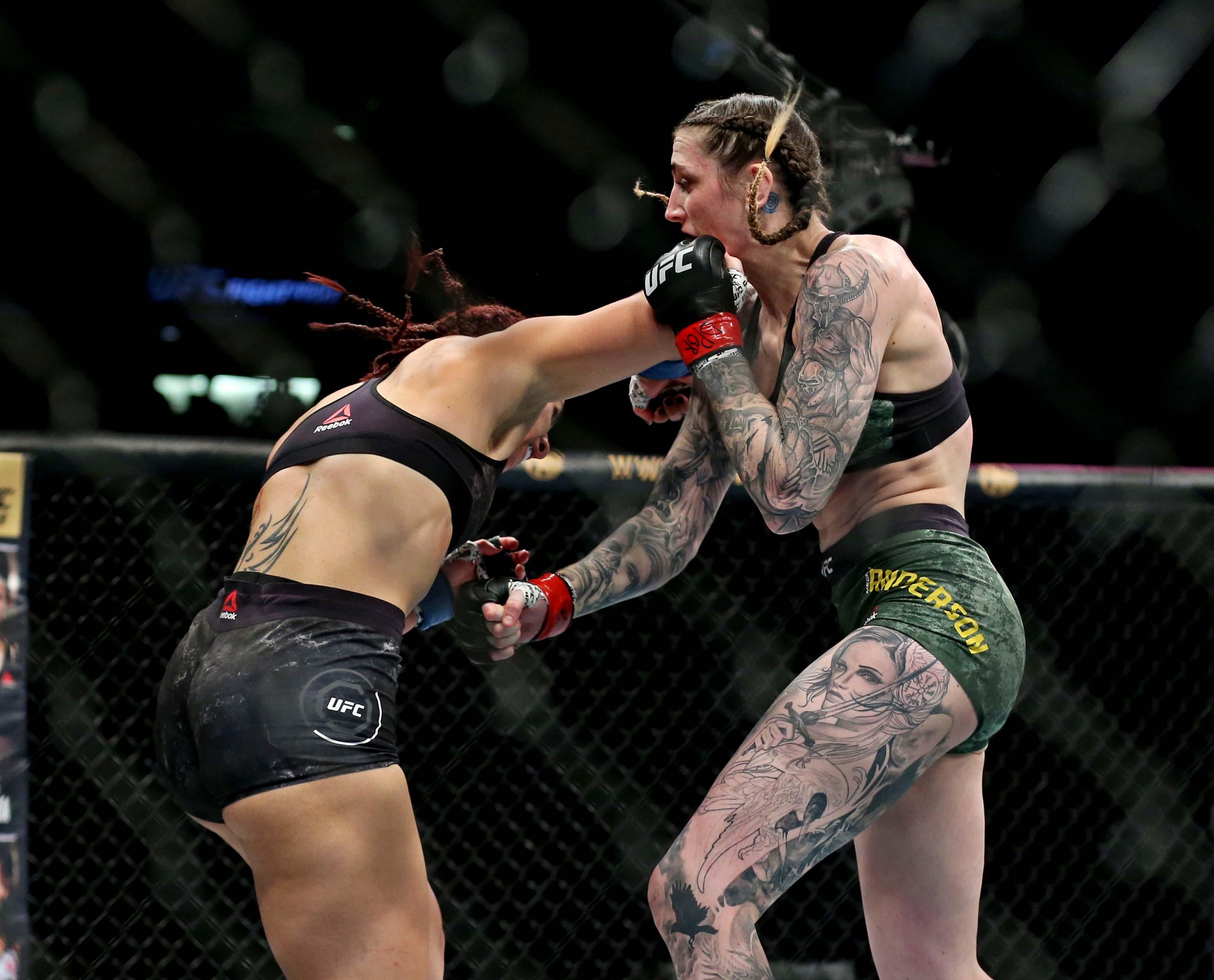 MMA: UFC Fight Night-Norfolk-Anderson vs Dumont