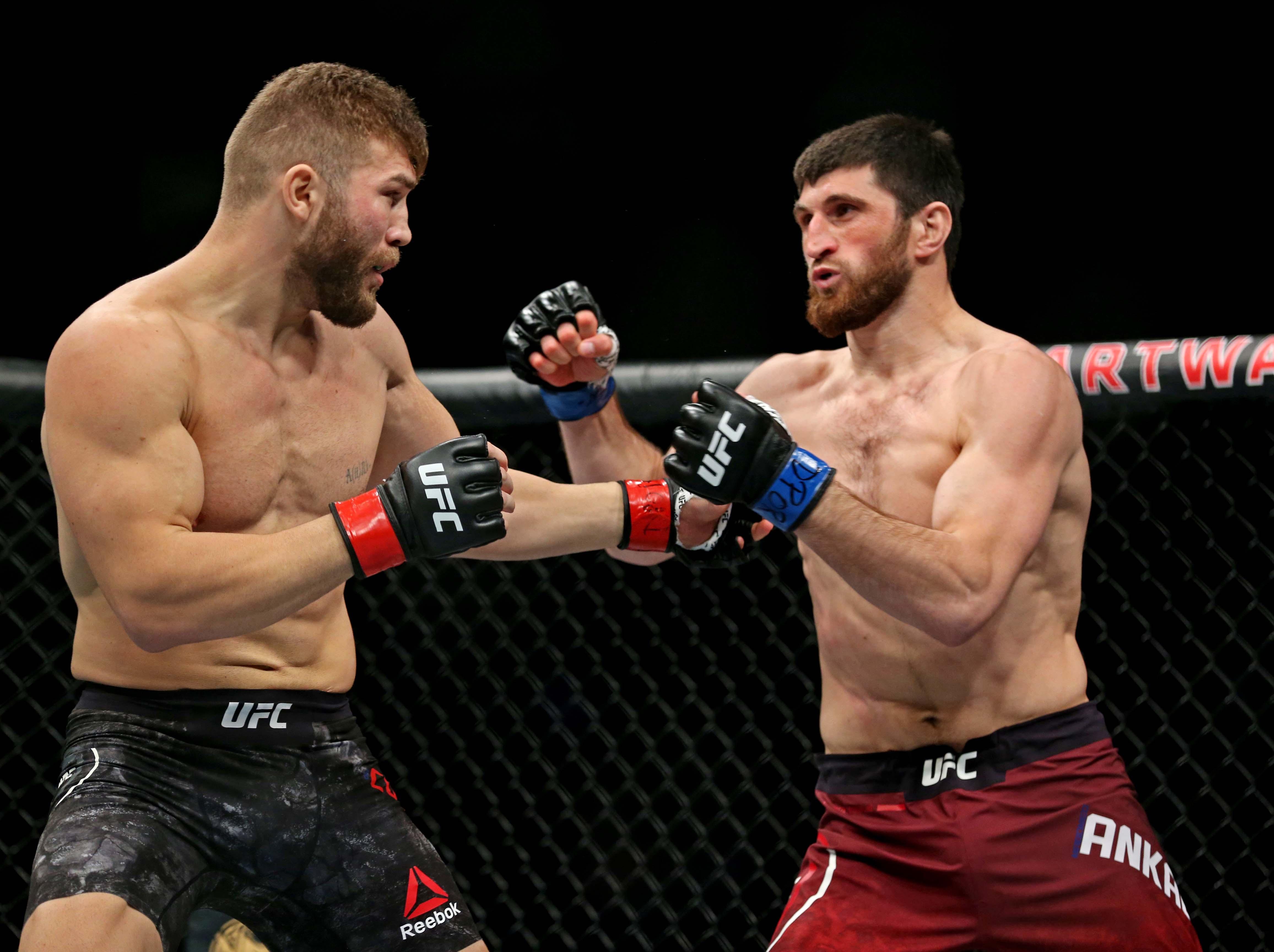 MMA: UFC Fight Night-Norfolk-Cutelaba vs Ankalaev