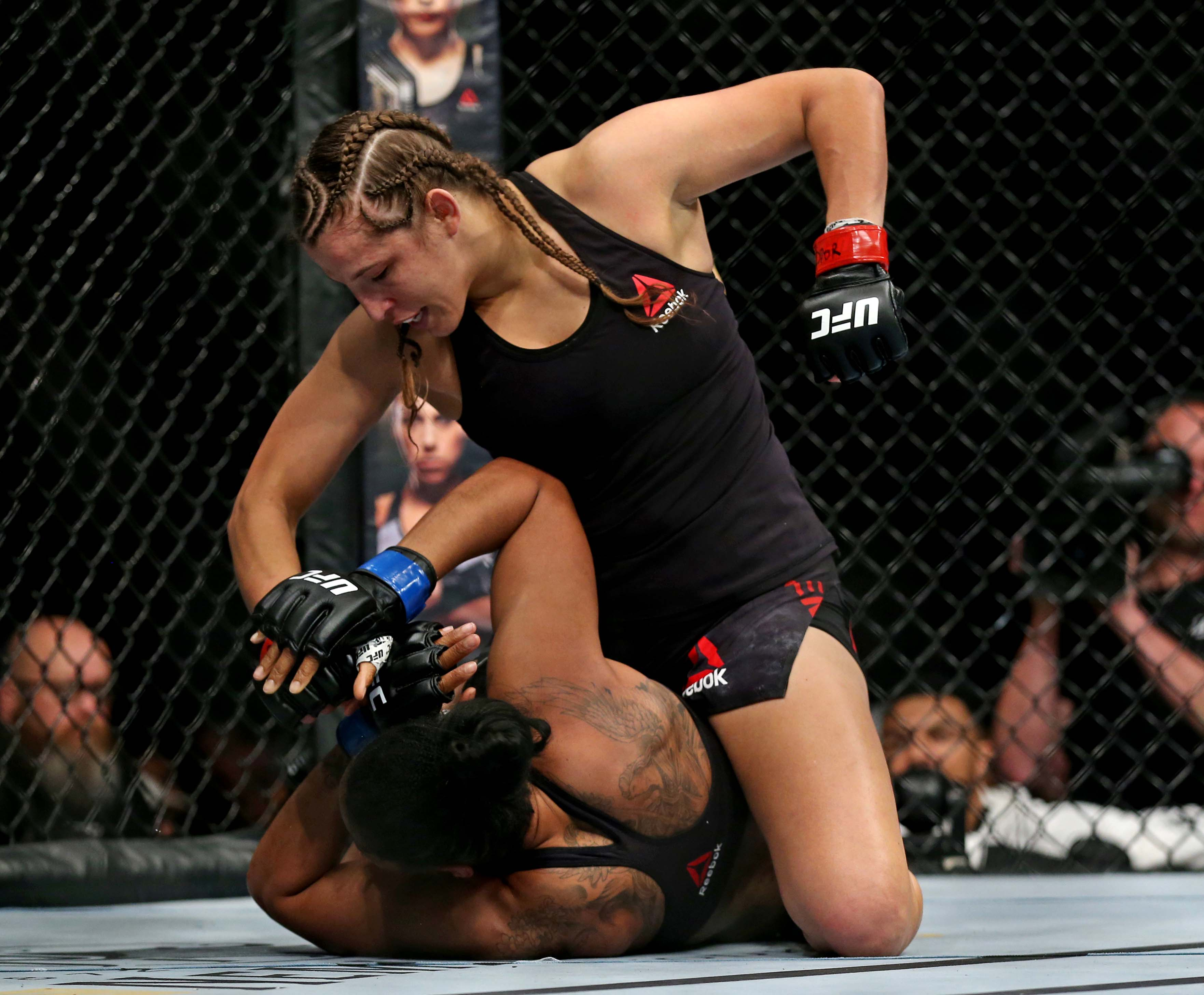 MMA: UFC Fight Night-Norfolk-Spencer vs Fairn