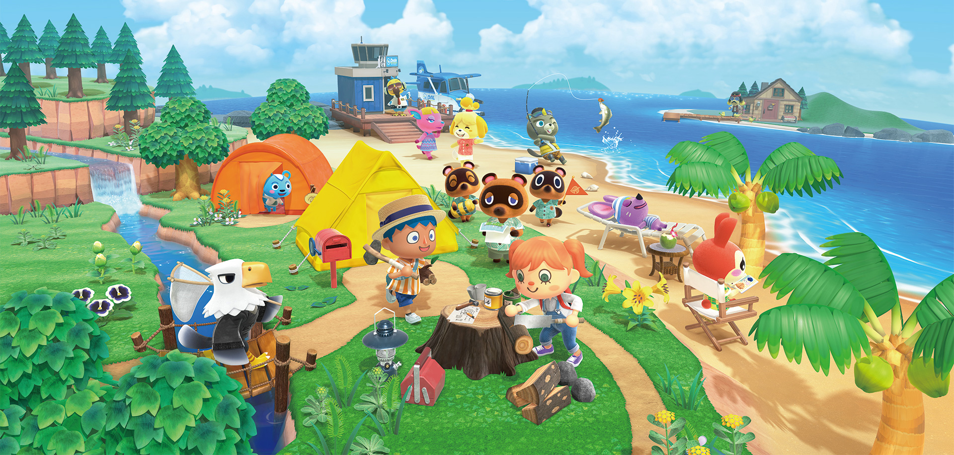 Animal Crossing New Horizons Switch Package header