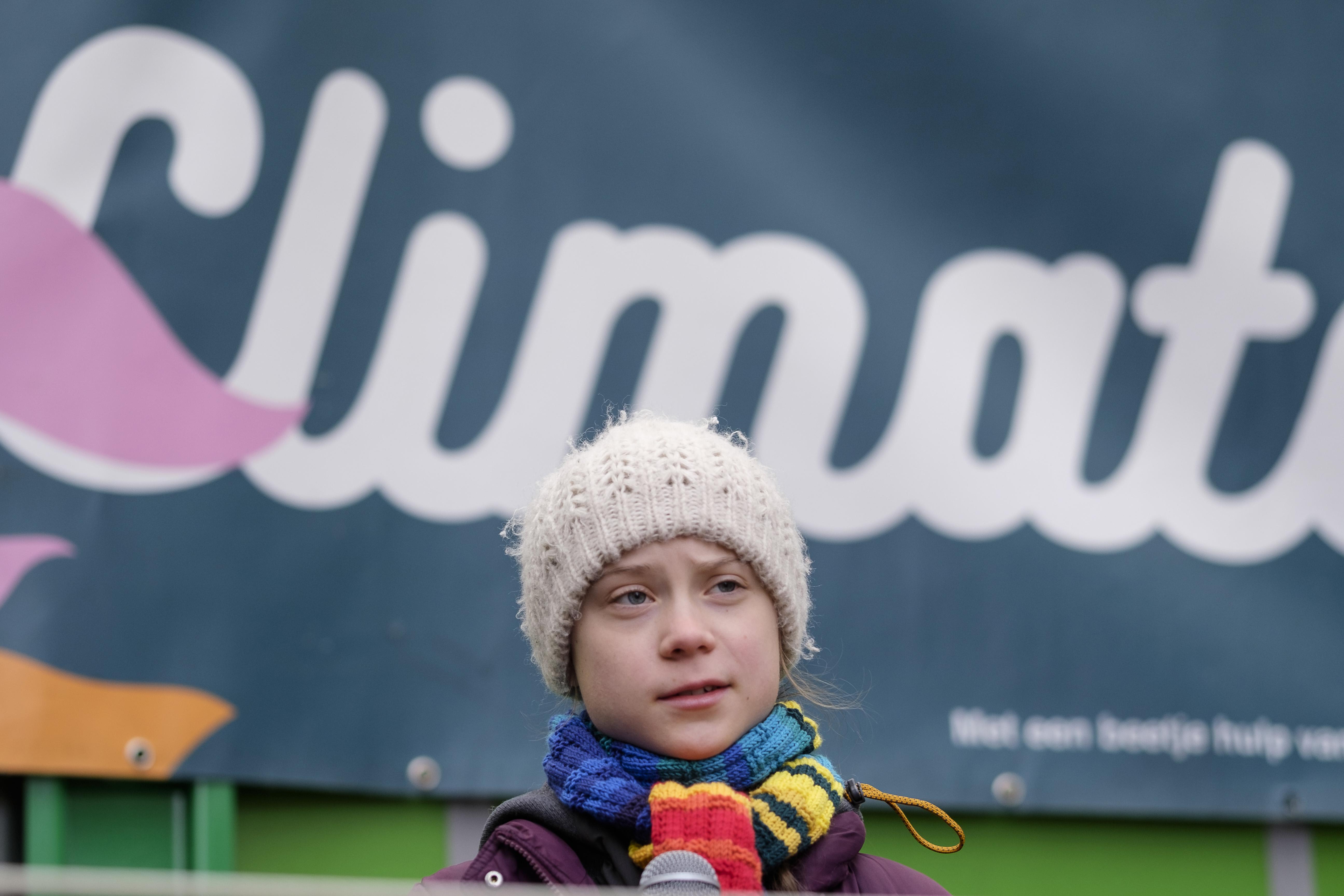 Swedish Environmentalist Greta Thunberg