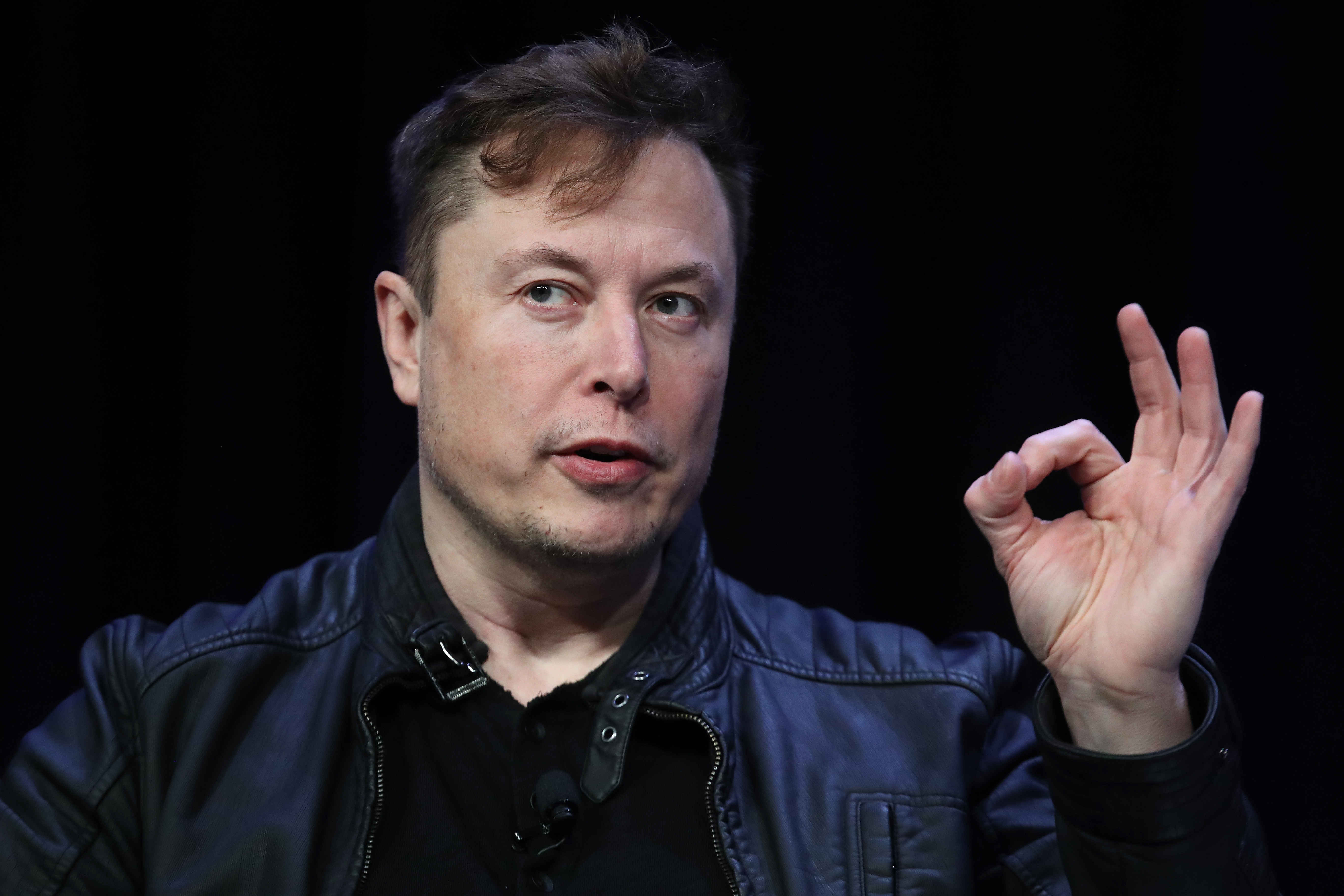 Elon Musk Speaks At Satellite Conference In Washington, DC