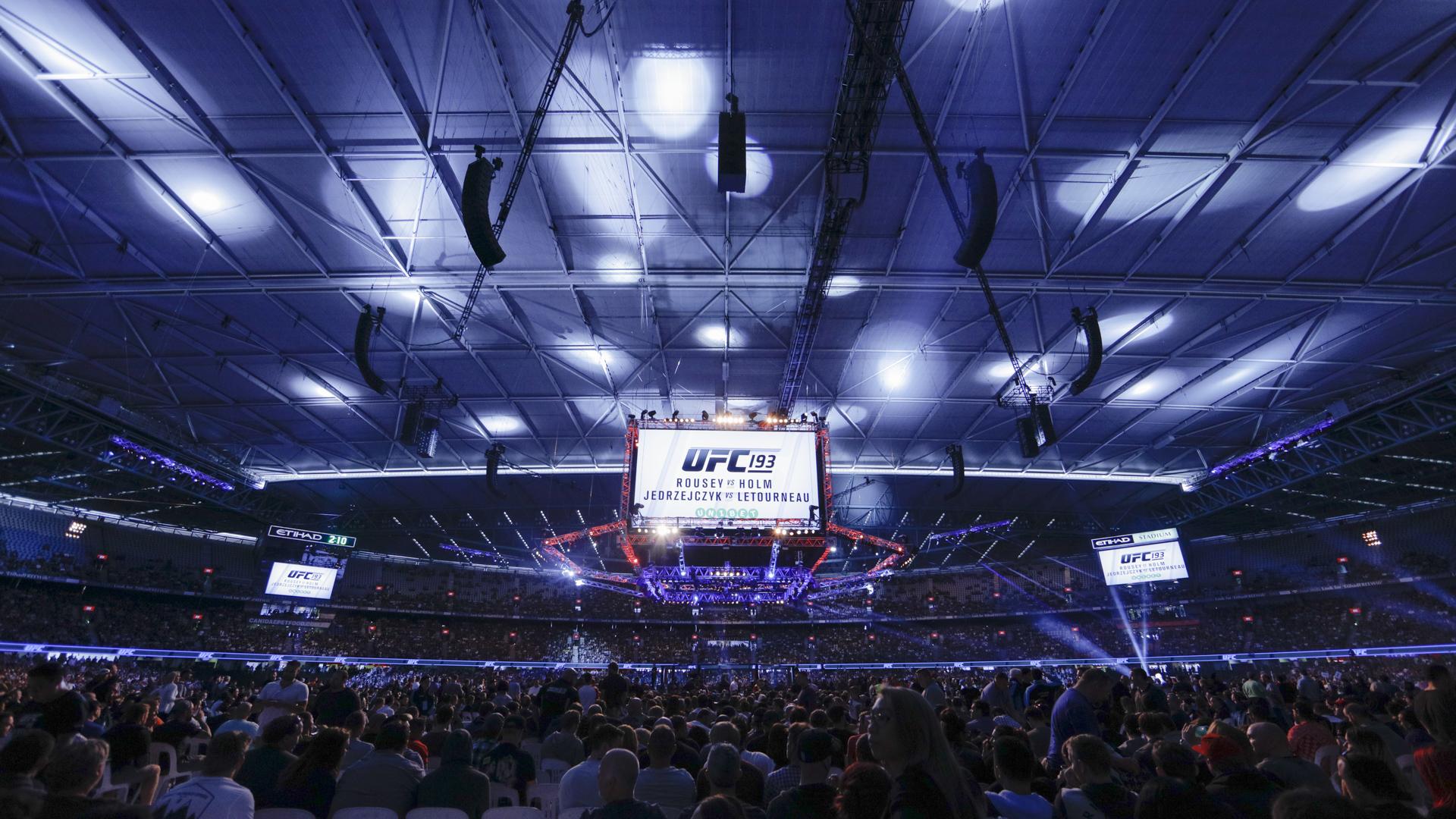 Etihad Stadium at UFC 193