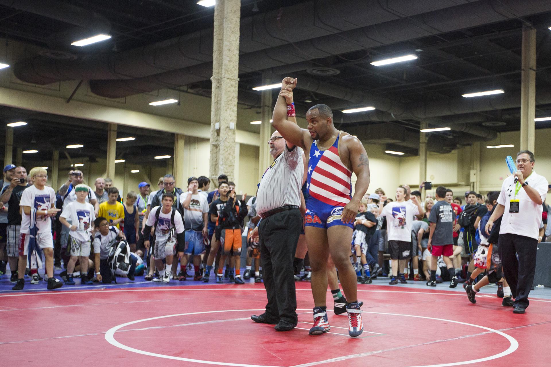 Daniel Cormier Wrestling Match