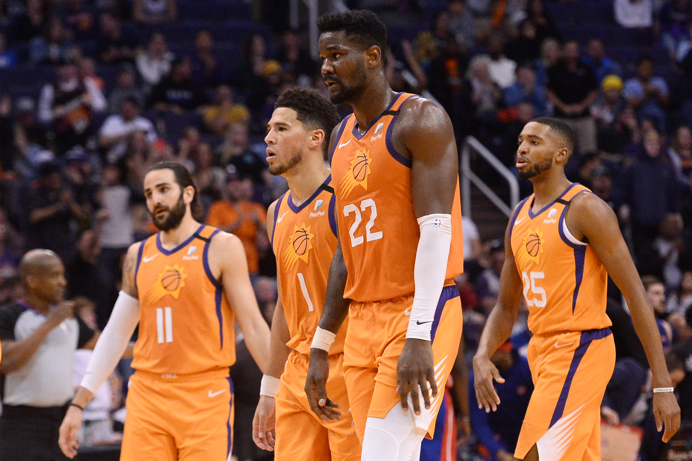 NBA: Detroit Pistons at Phoenix Suns