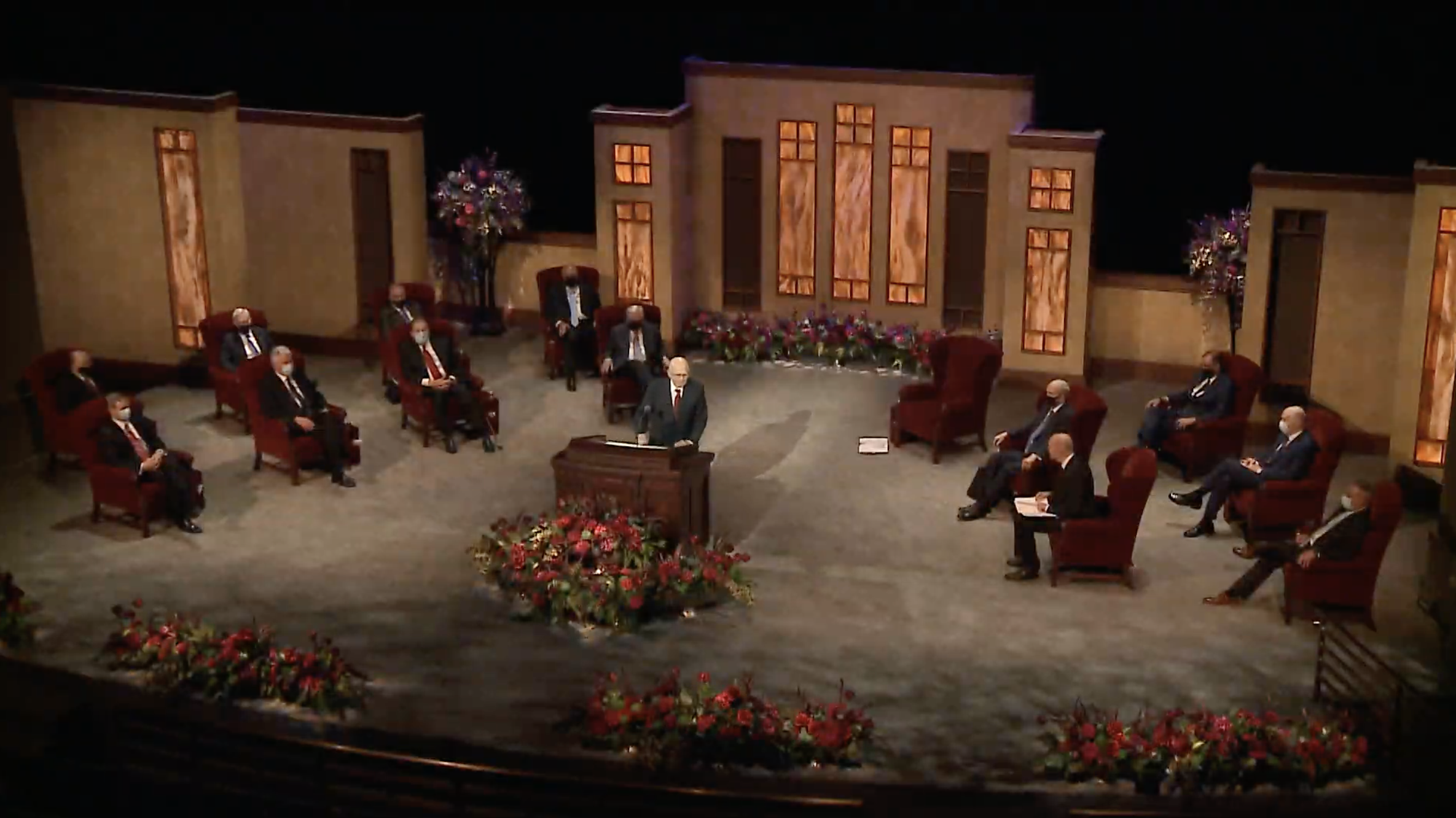 General Conference viewers celebrated the semiannual event for the masks, the slamming of white supremacy and the new format.