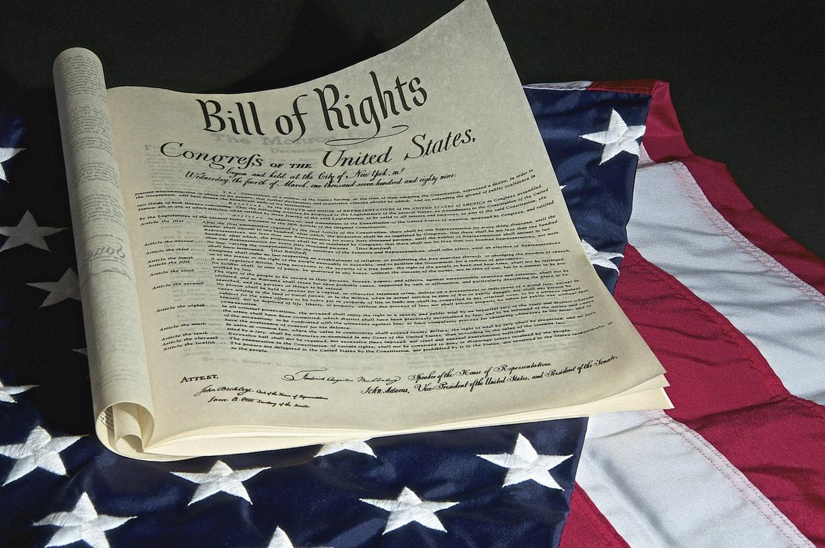 The first amendment in the Bill of Rights is about freedom of religion.