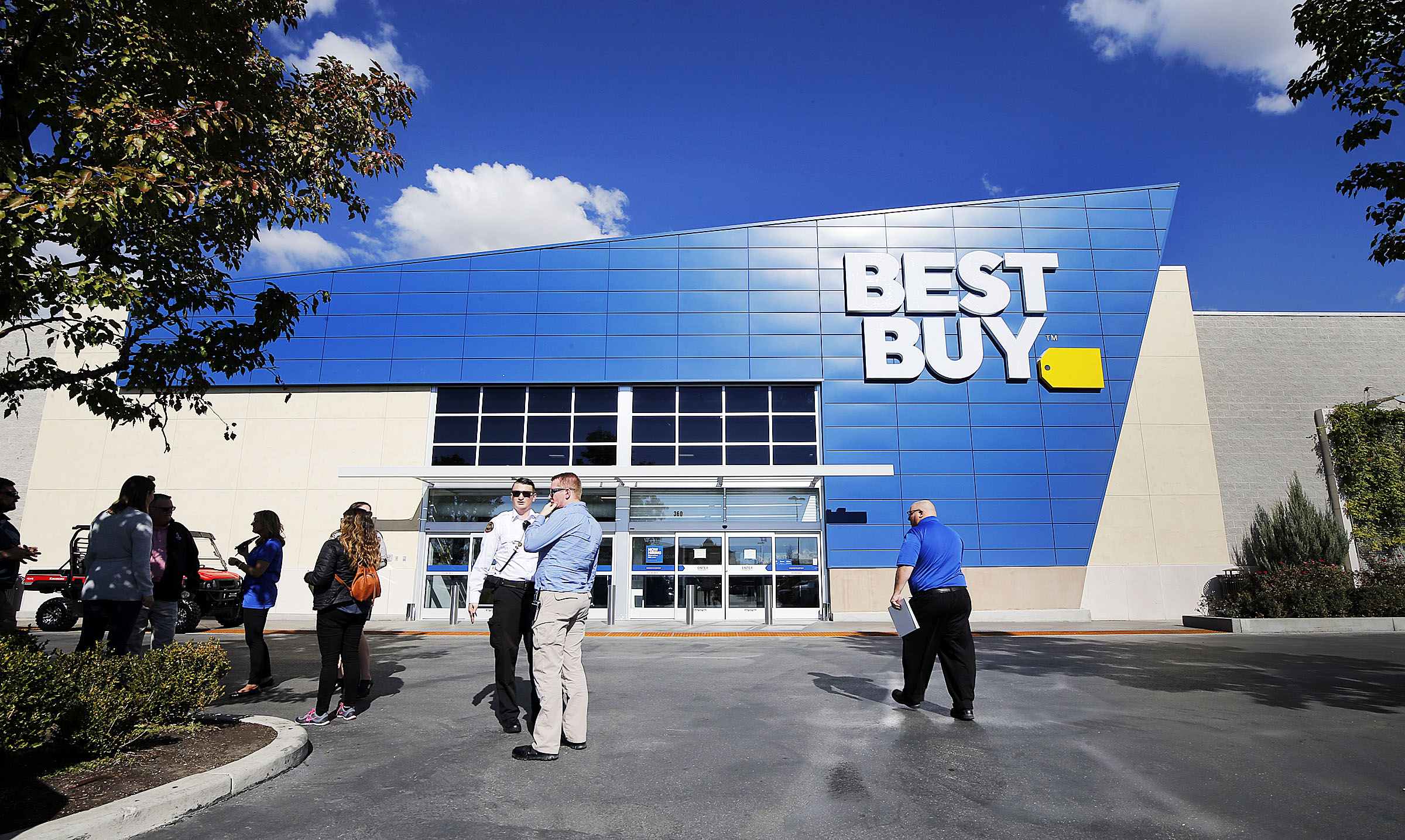 Best Buy prepares on Thursday, Oct. 18, 2018. Best Buy deals will be available next Tuesday, Oct. 13.