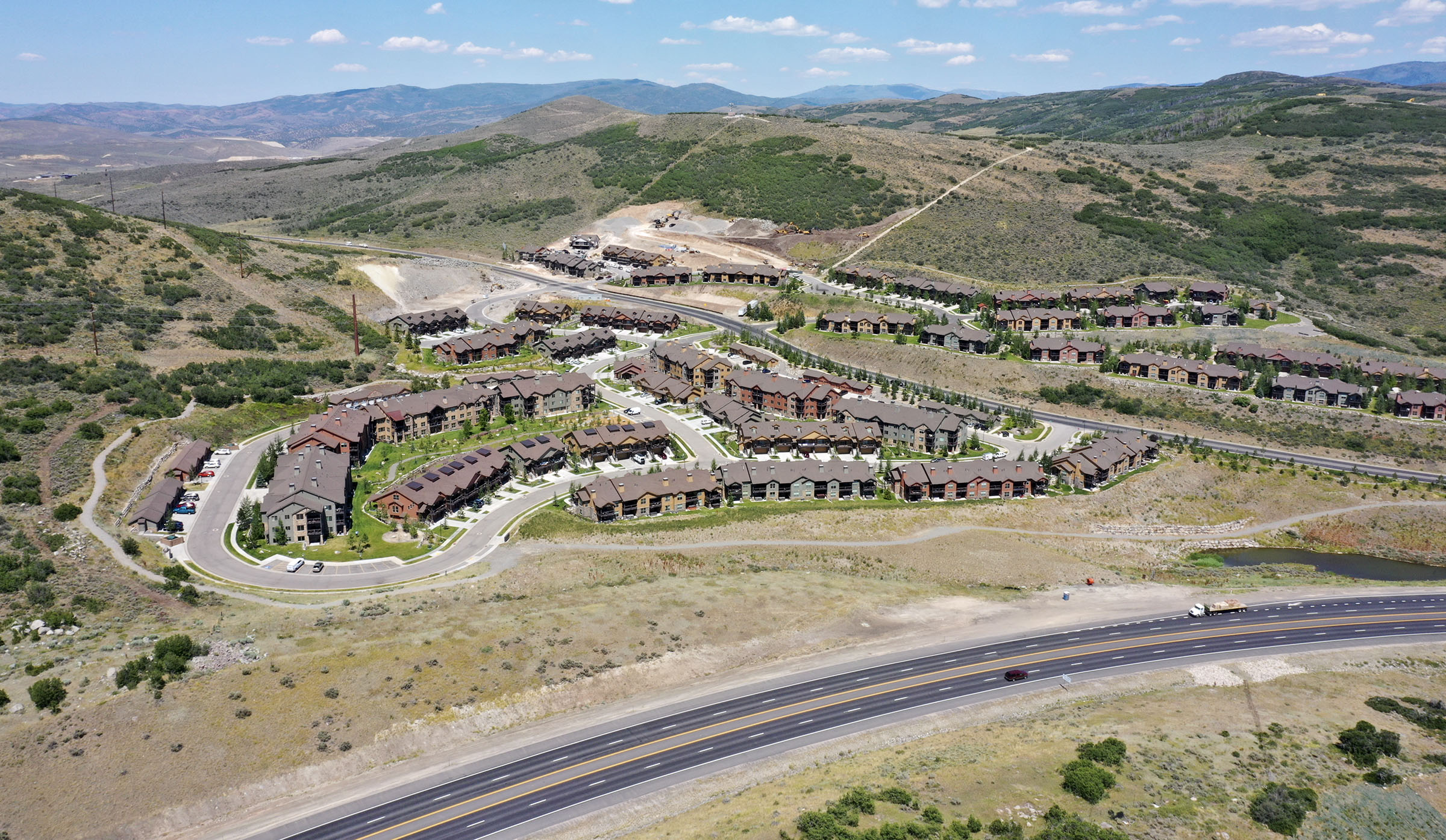 The town of Hideout wants to annex hundreds of acres from Summit County and Wasatch County, including land on both sides of state Route 248, near the Black Rock Ridge community, in Wasatch County on Monday, July 20, 2020.