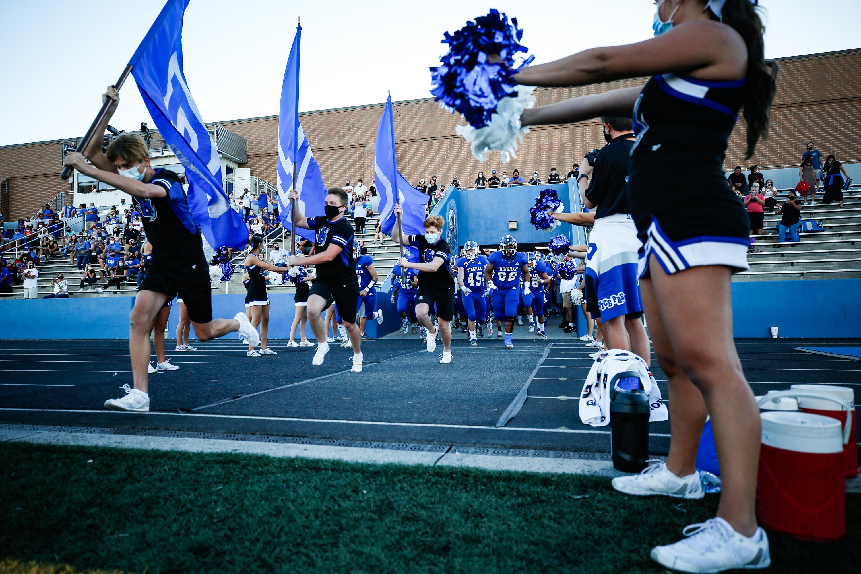 Bingham takes on Timpview during a high school football game at Bingham High School in South Jordan on Thursday, Sept. 3, 2020.