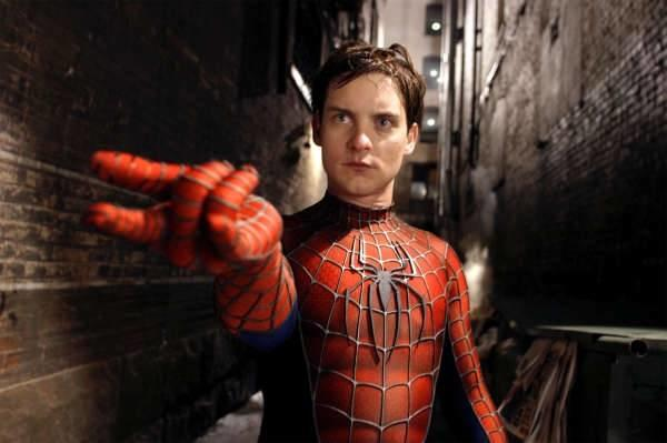 Tobey Maguire stars as Peter Parker/Spider-Man.