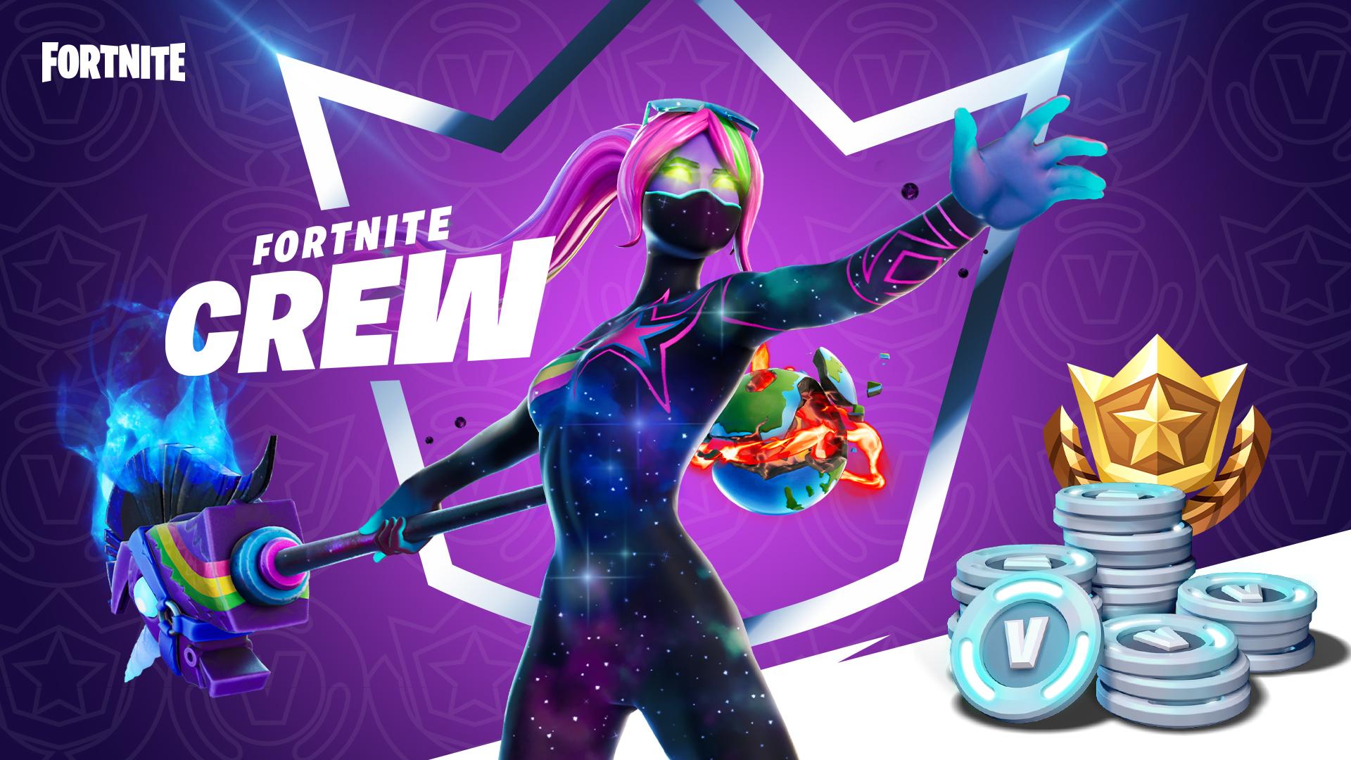 Fortnite's Fortnite Crew subscription service