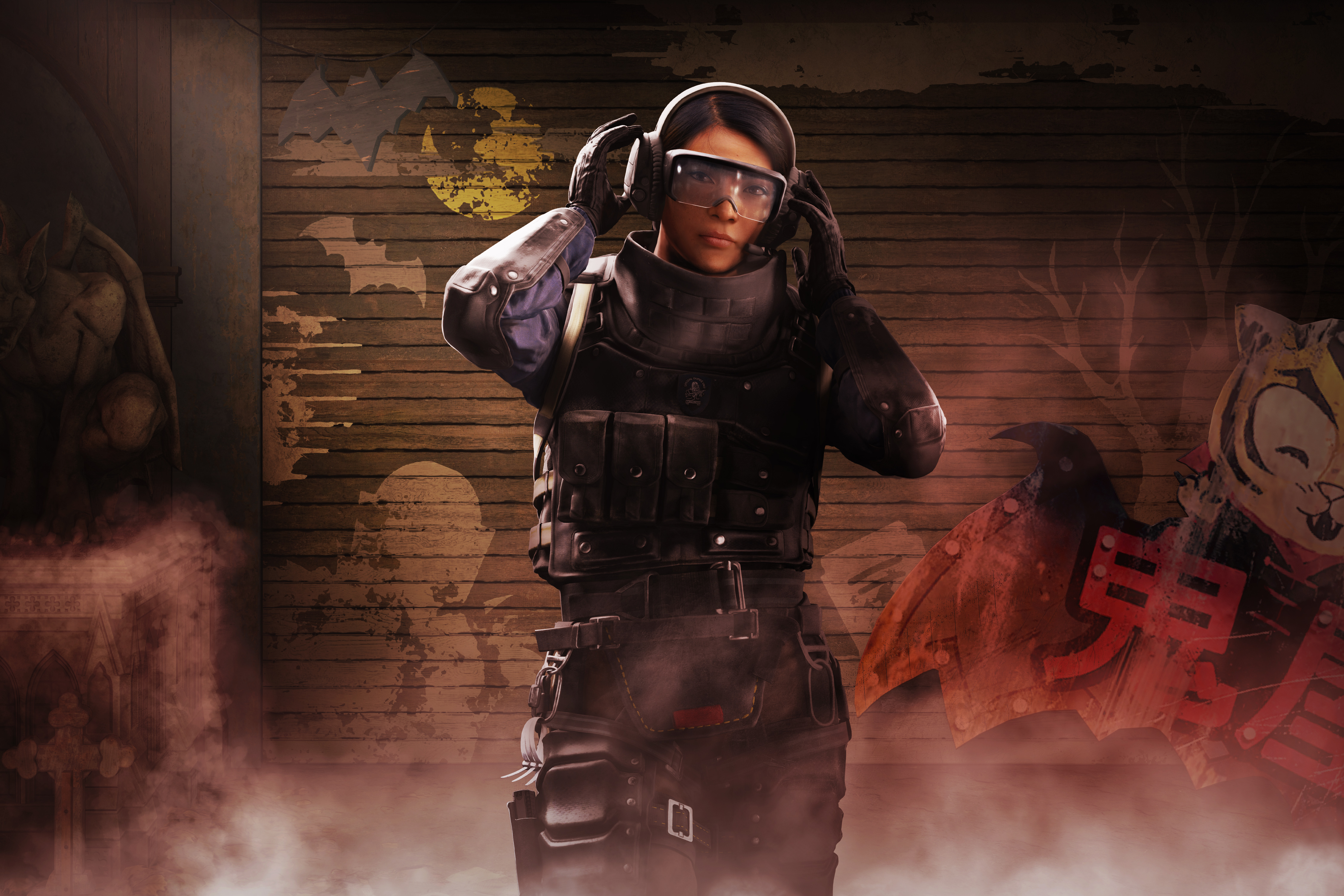 Rainbow Six Siege - An operator prepares for a round of combat