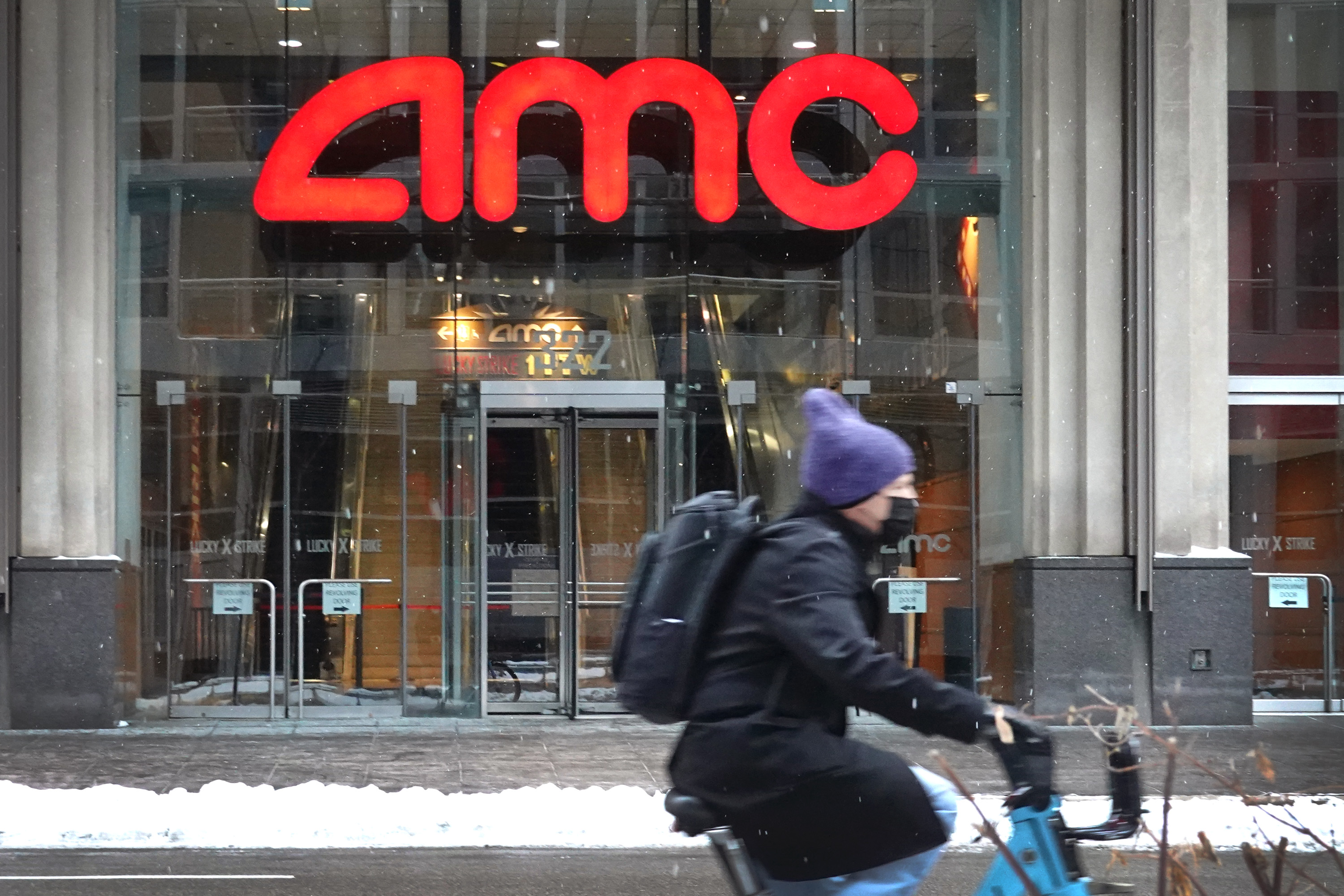 AMC's Stock Is Latest Target For Retail Investors Organized On Reddit Message Boards