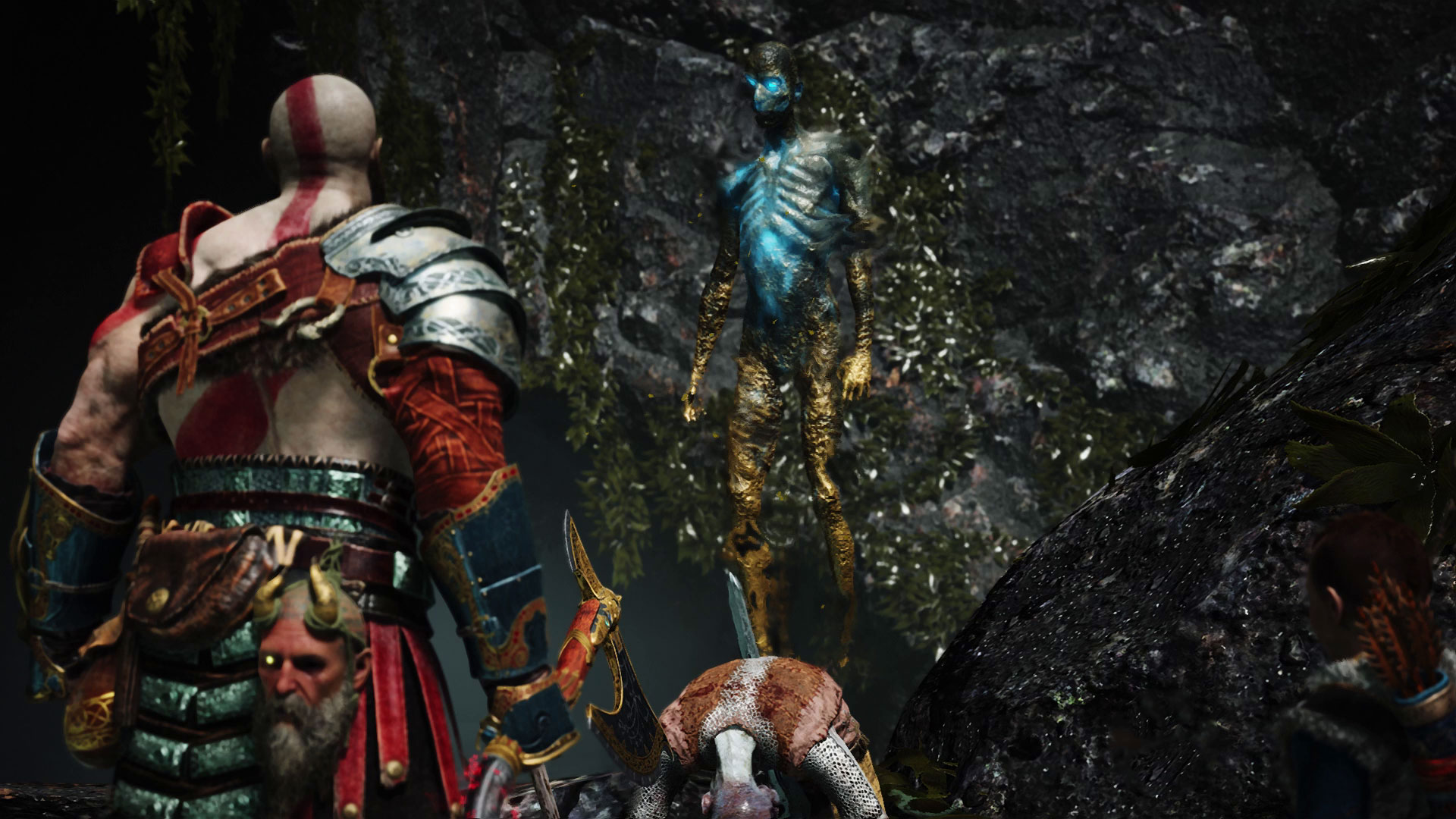 God of War Kratos The Mason's Channel Gullveig