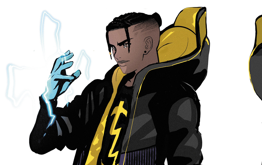 The new 2021 Static from Static Shock DC Universe
