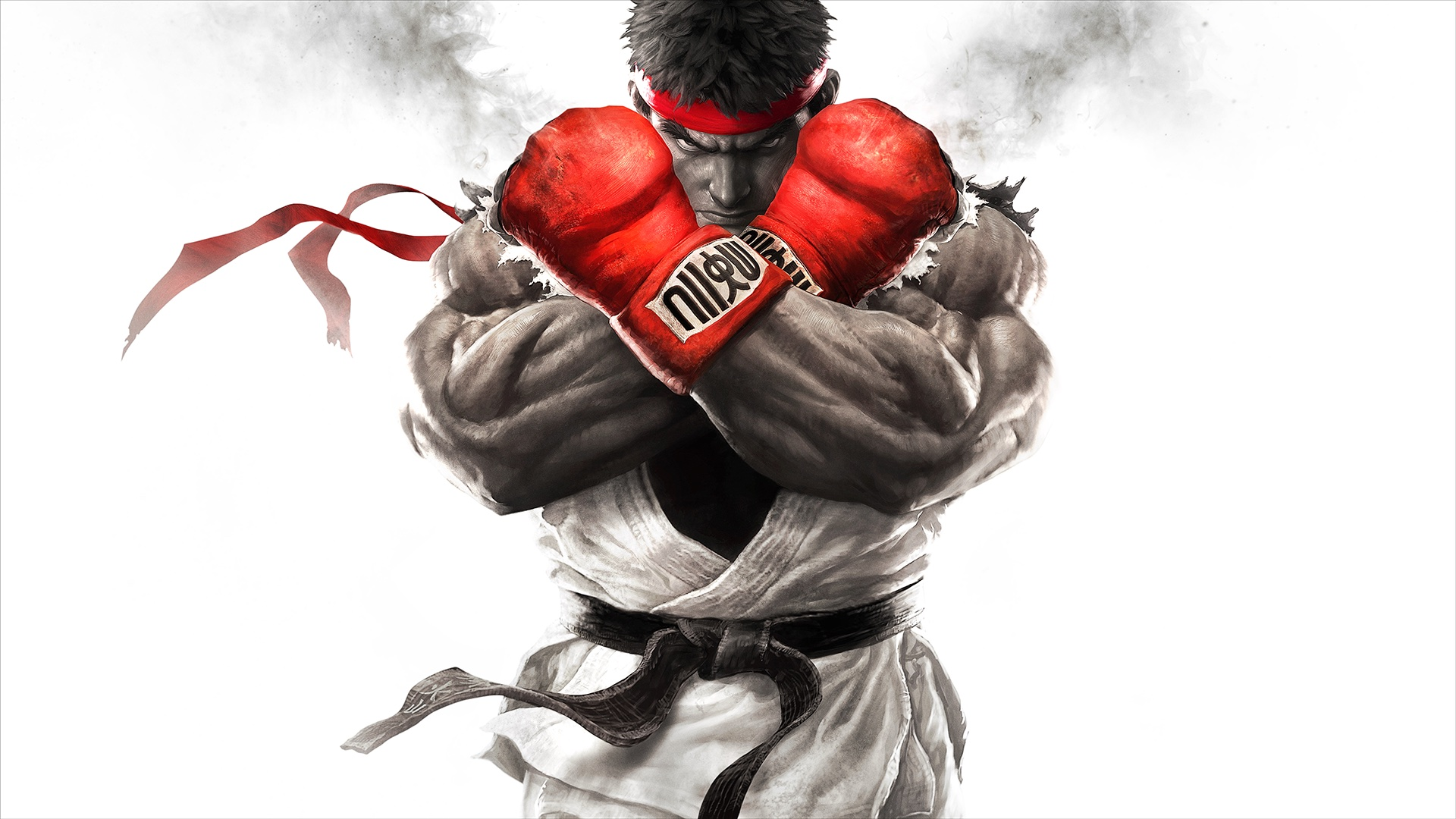 Key art of Ryu from Street Fighter 5