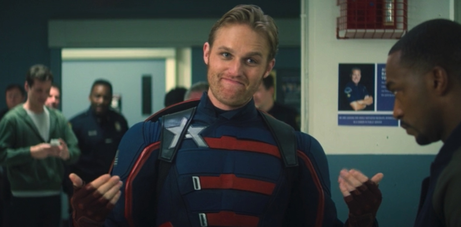 Wyatt Russell as John Walker aka US Agent aka New Captain America in Falcon and the Winter Soldier