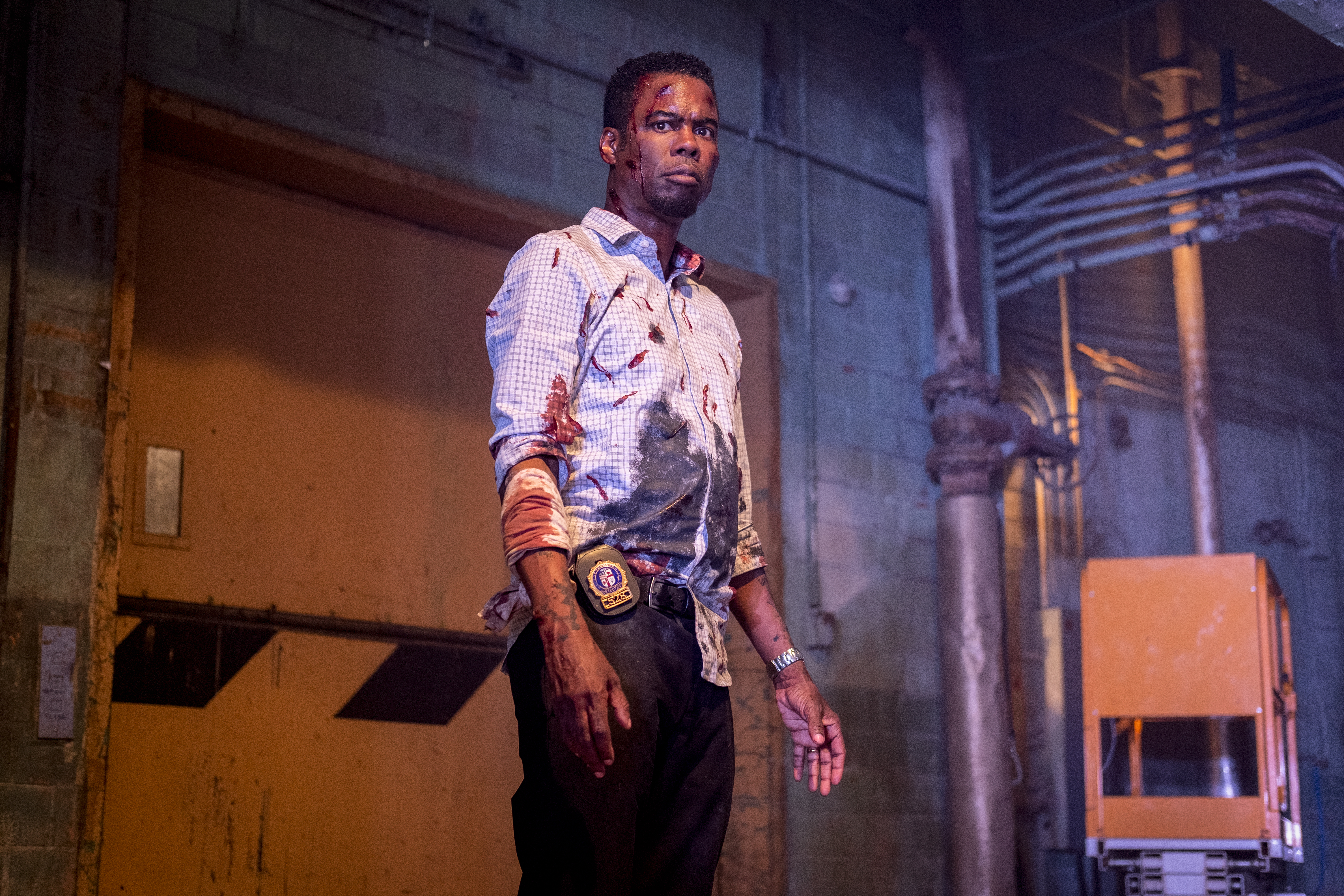 Spiral: Chris Rock covered in blood in the new Saw reboot