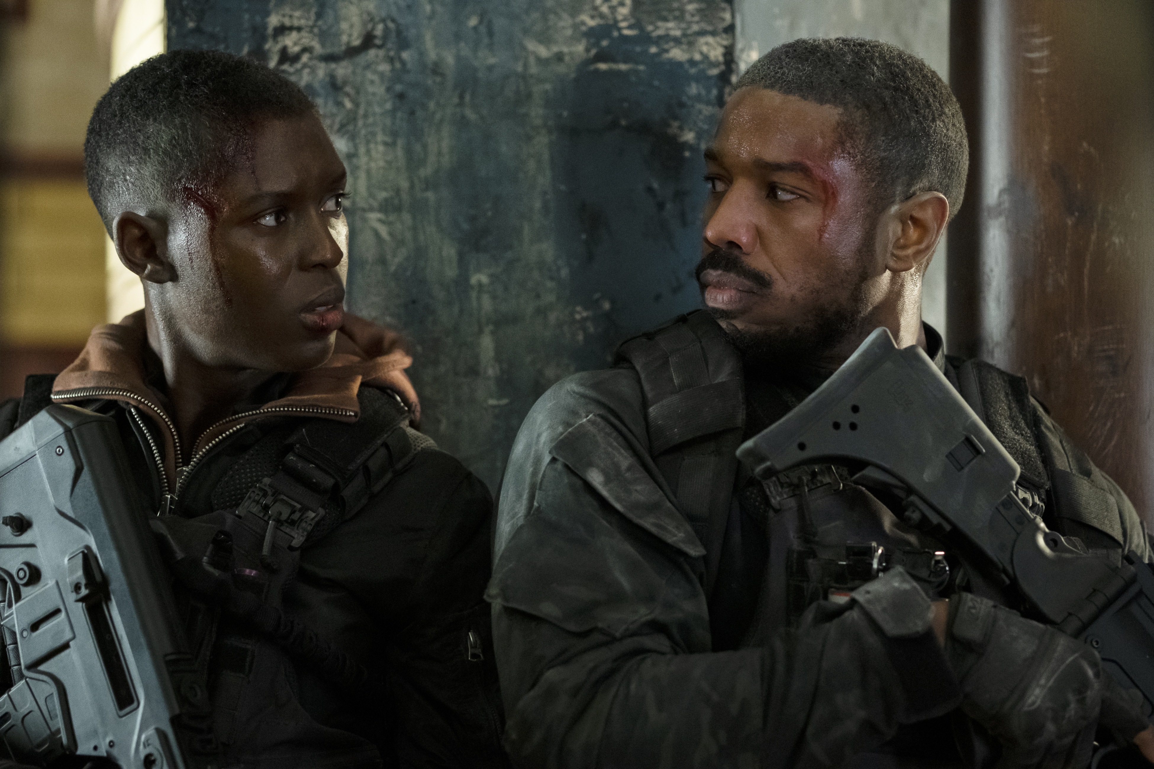 Michael B. Jordan as John Kelly in Tom Clancy's Without Remorse for Amazon