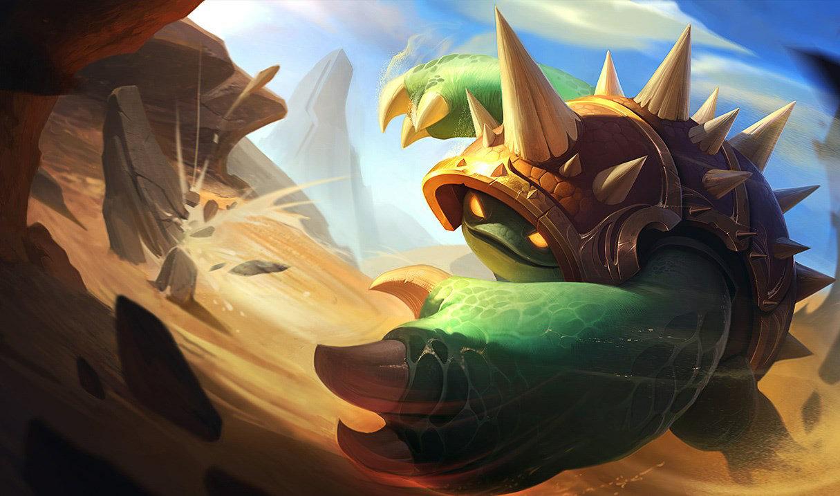 Rammus from League of Legends