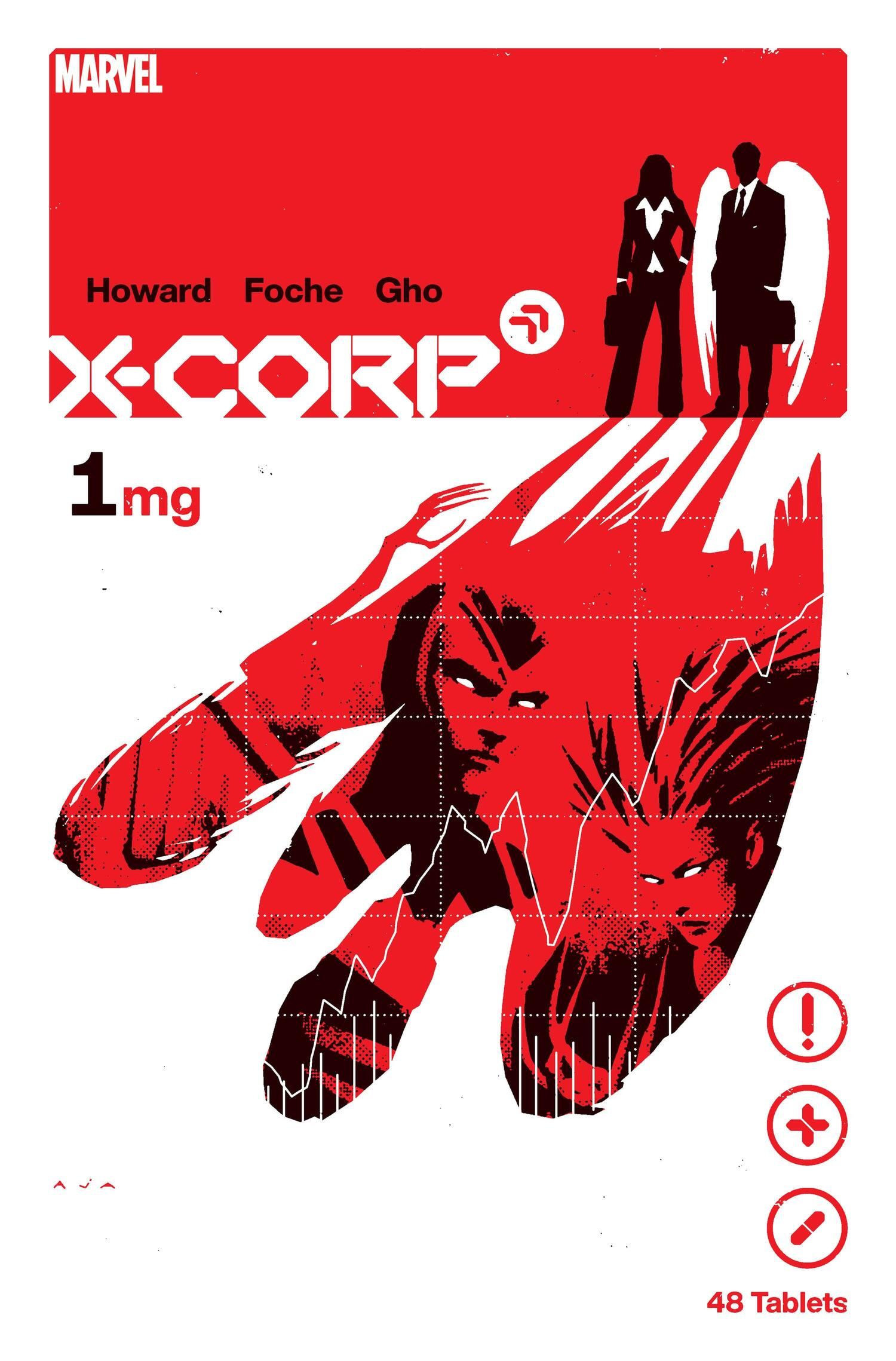 The cover for X-Corp #1 , Marvel Comics (2021)