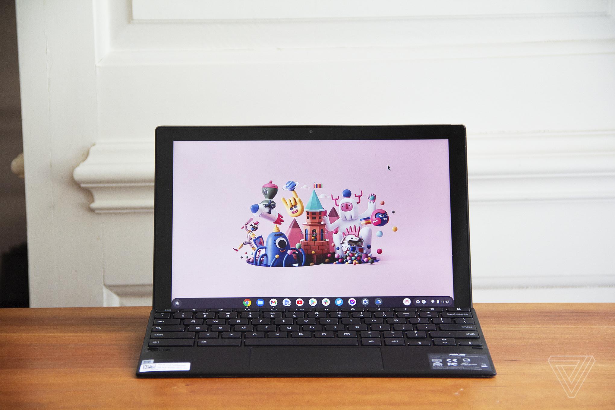 Best Chromebook 2021: Asus Chromebook Detachable CM3