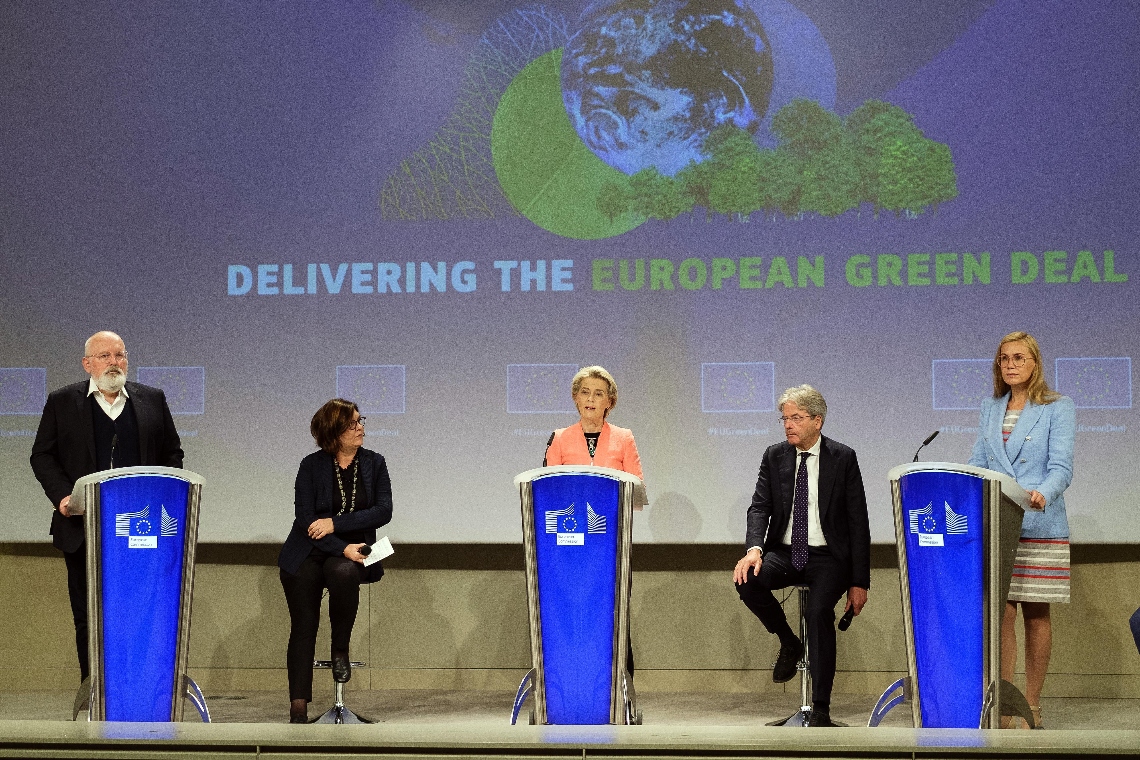 European Union Unveils Landmark Climate Plan