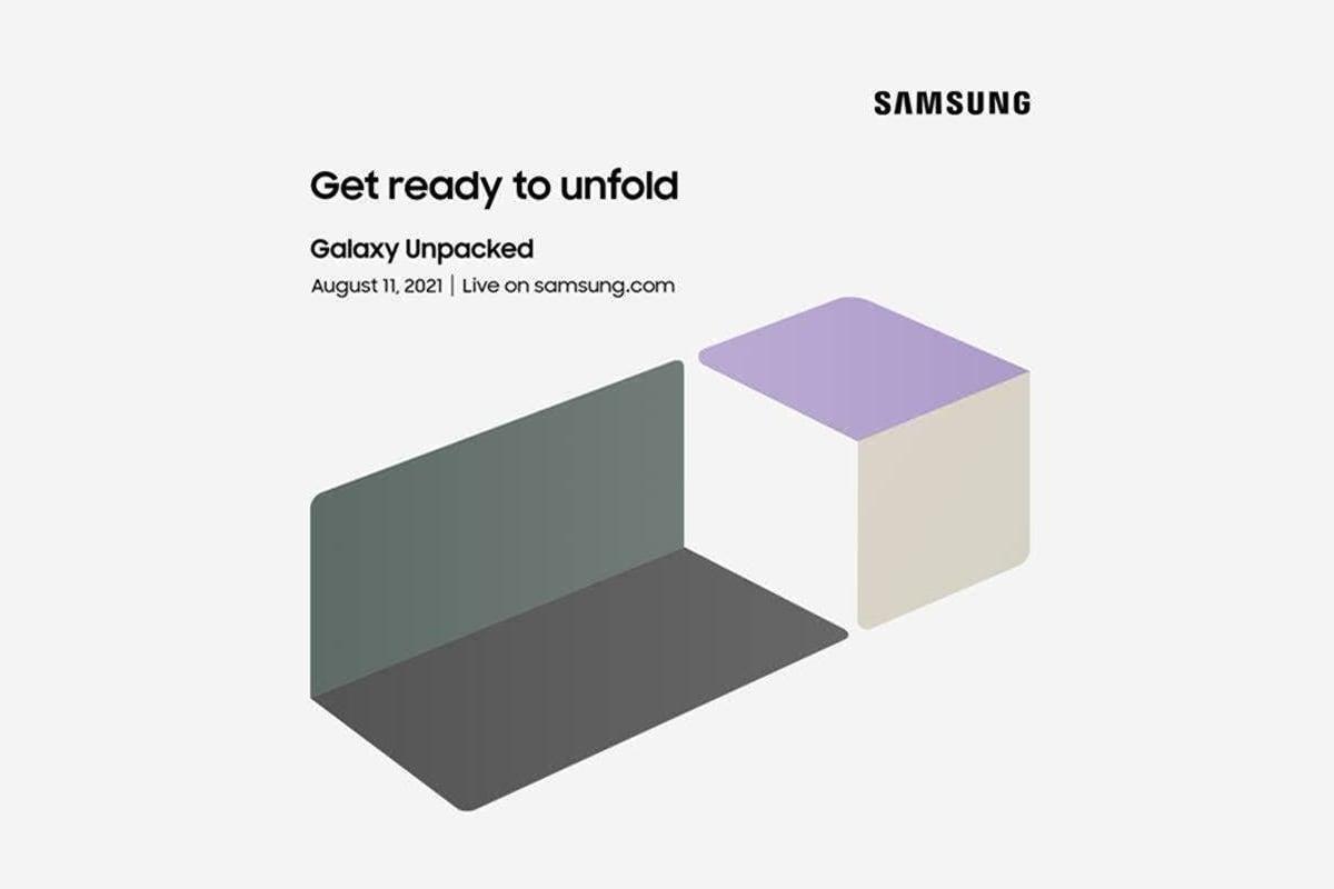 Samsung Unpacked invitation