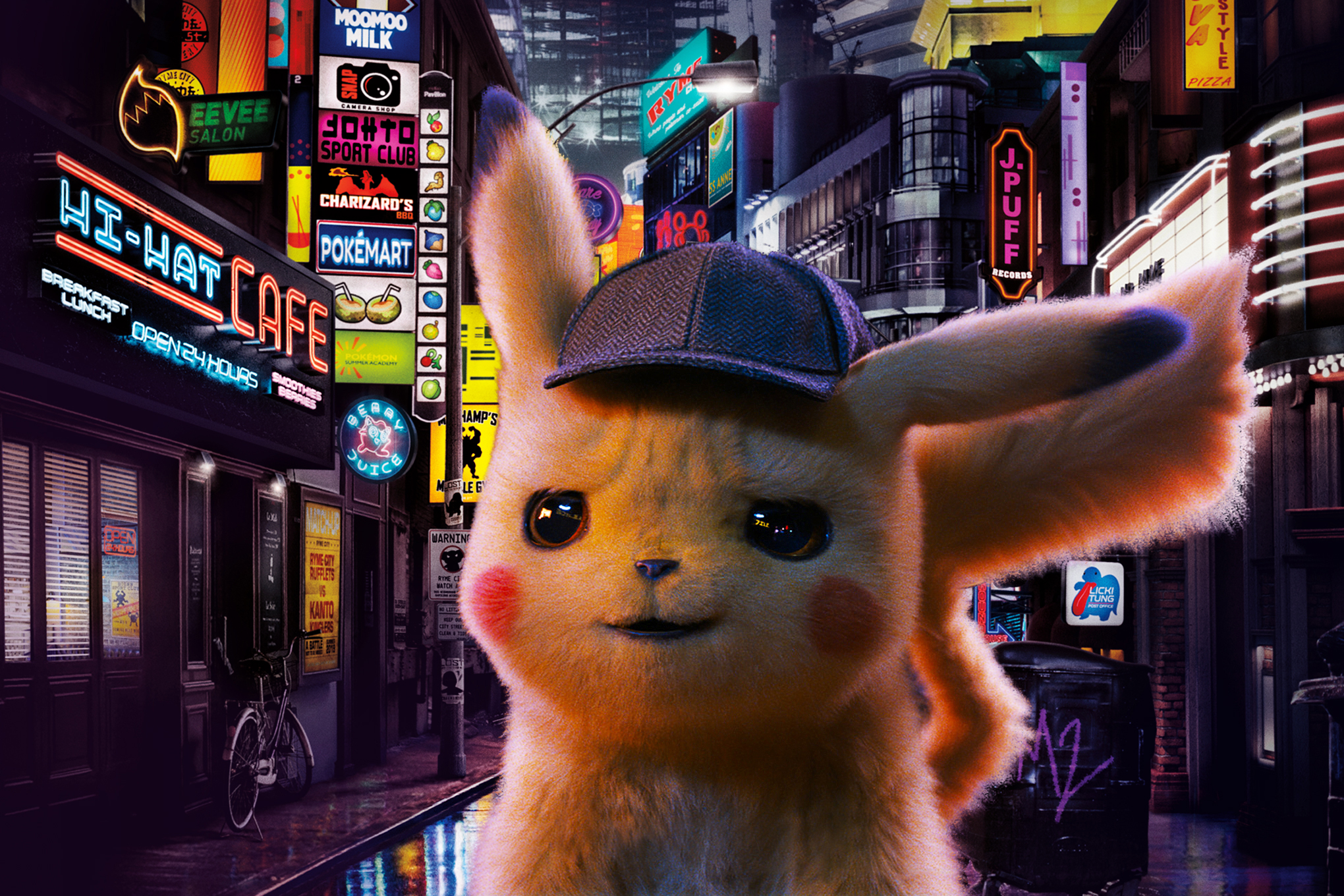 Detective Pikachu artwork