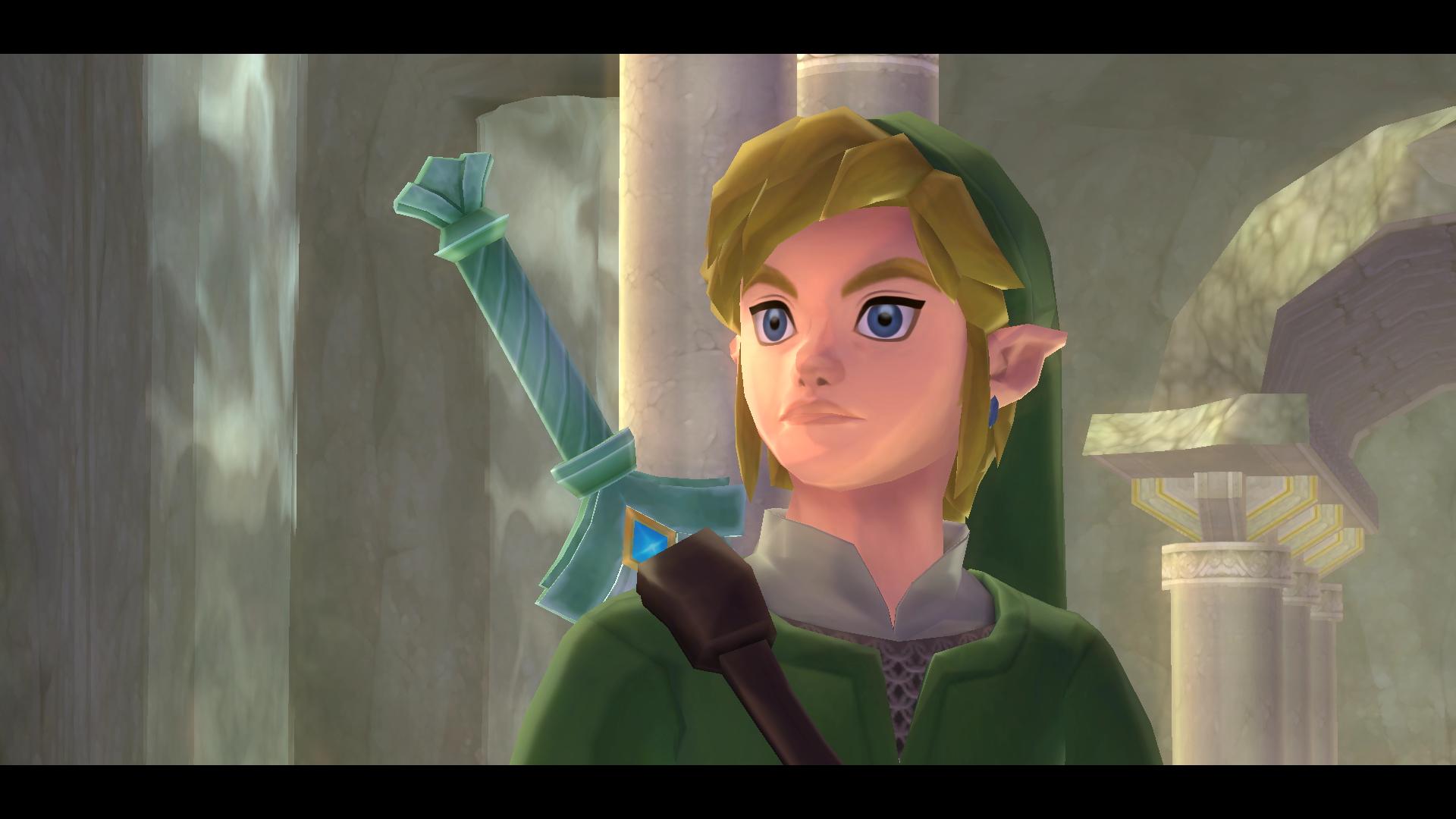 Link from The Legend of Zelda: Skyward Sword HD