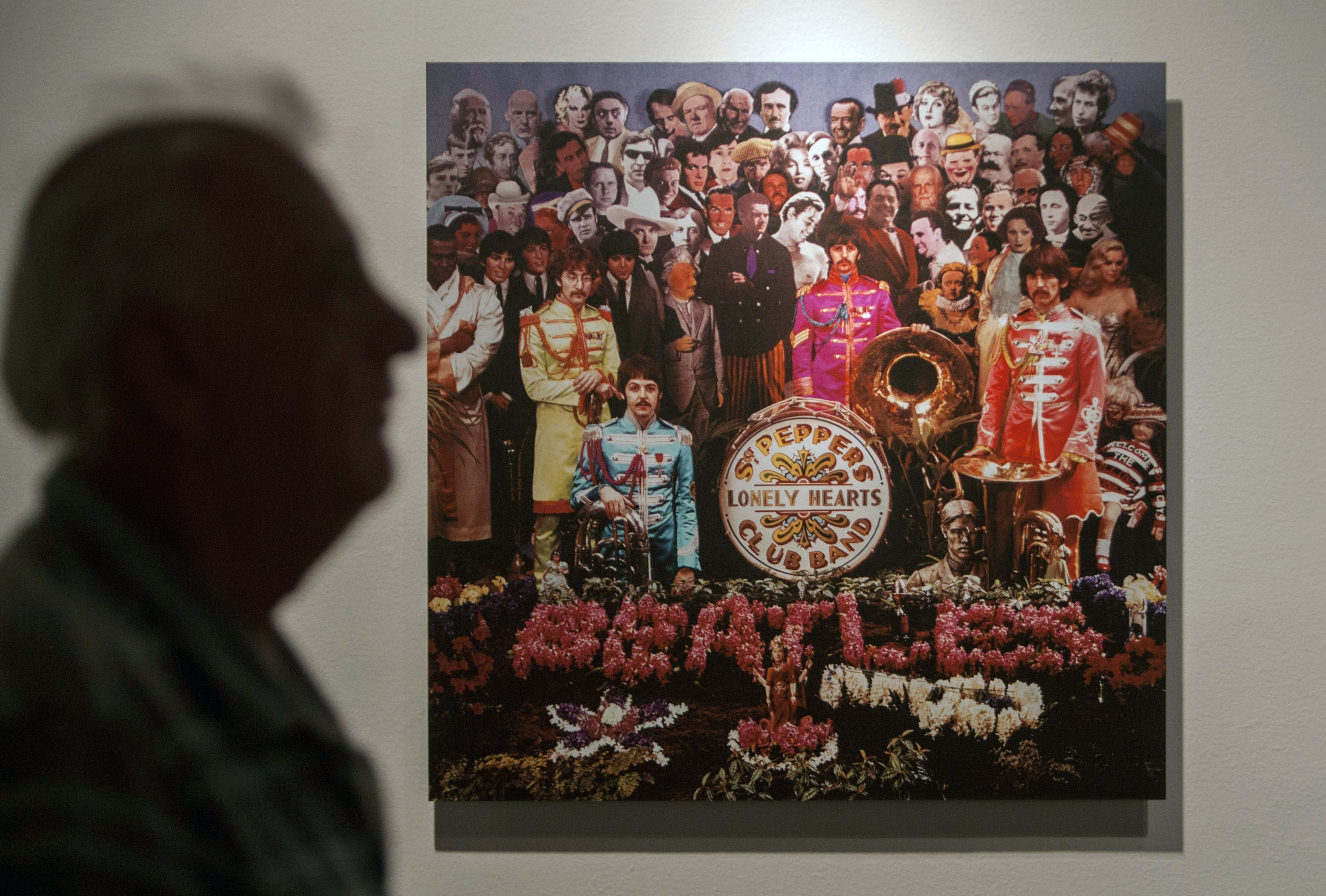 MEXICO-PHOTOGRAPHY-BEATLES-SGT PEPPER-EXHIBITION