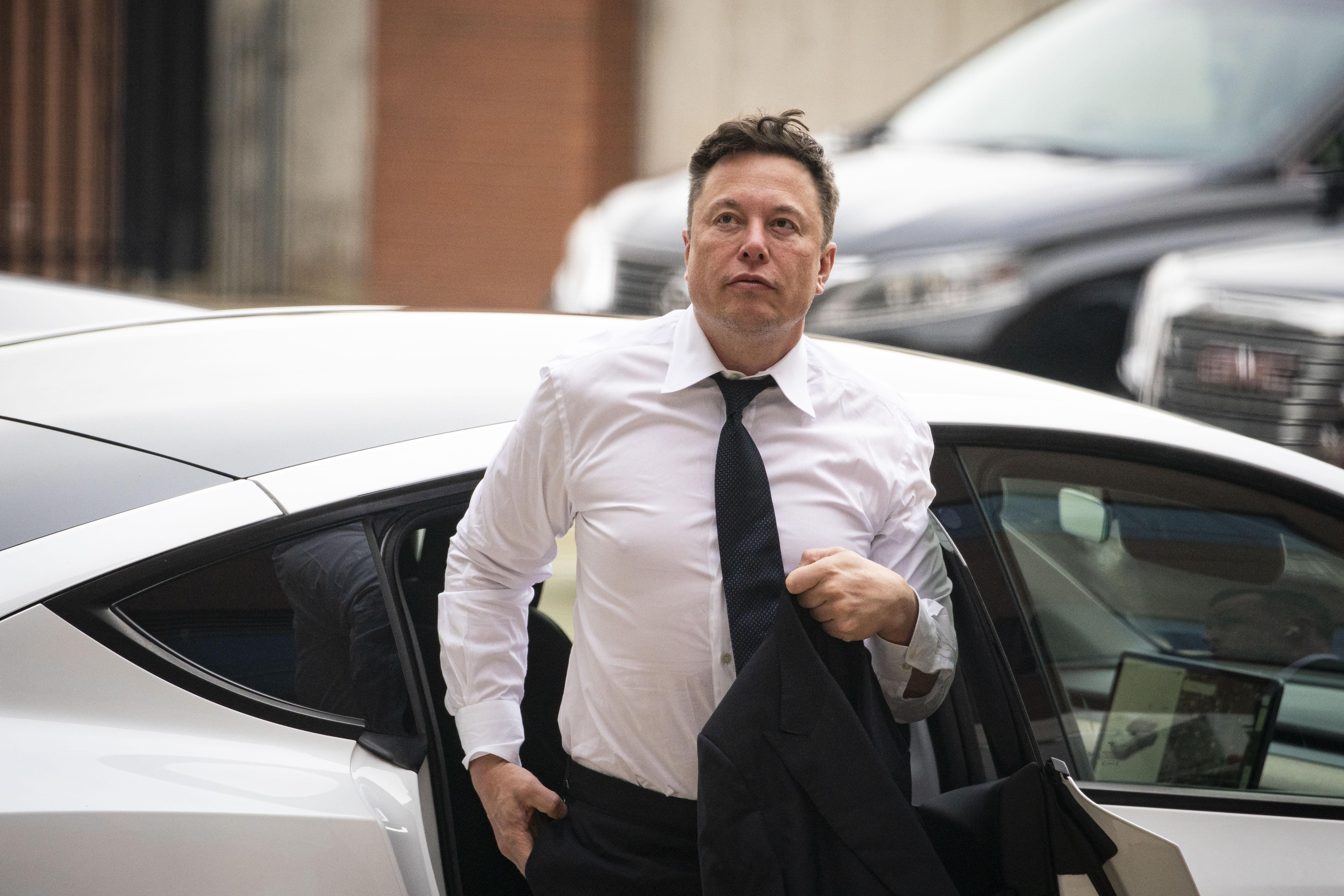 Tesla CEO Elon Musk Testifies In SolarCity Trial