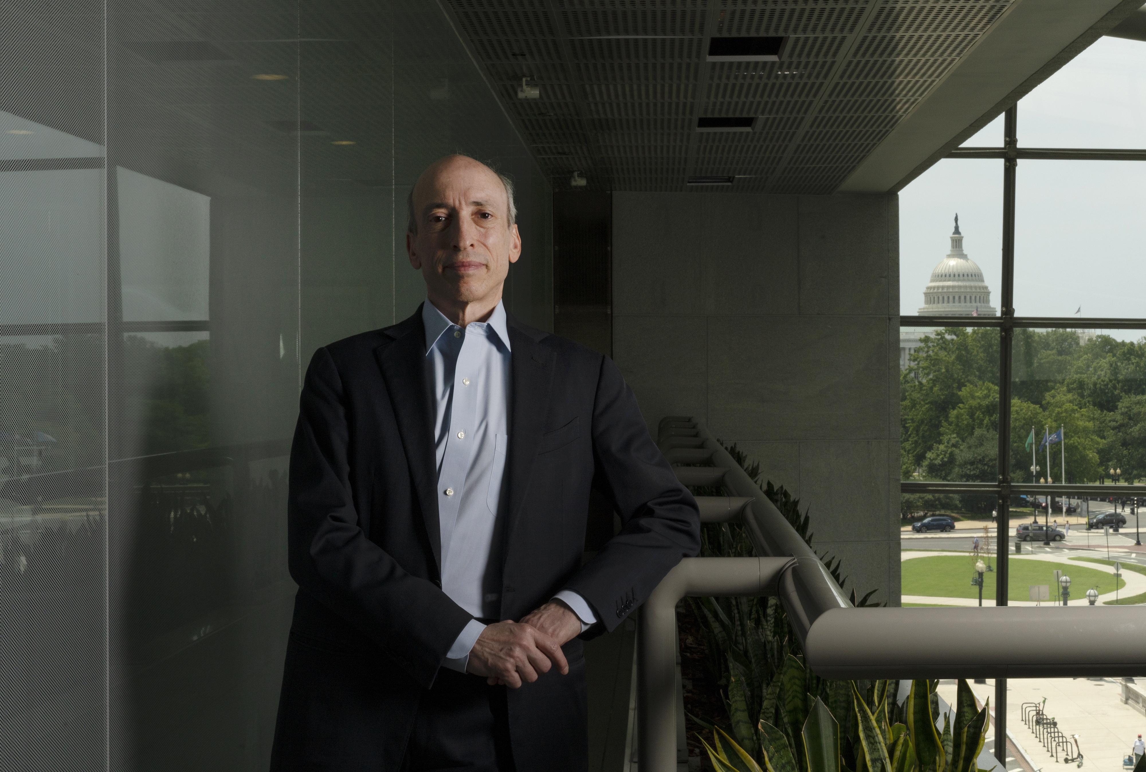 SEC Chairman Gensler Readies More Crypto Oversight To Protect Investors