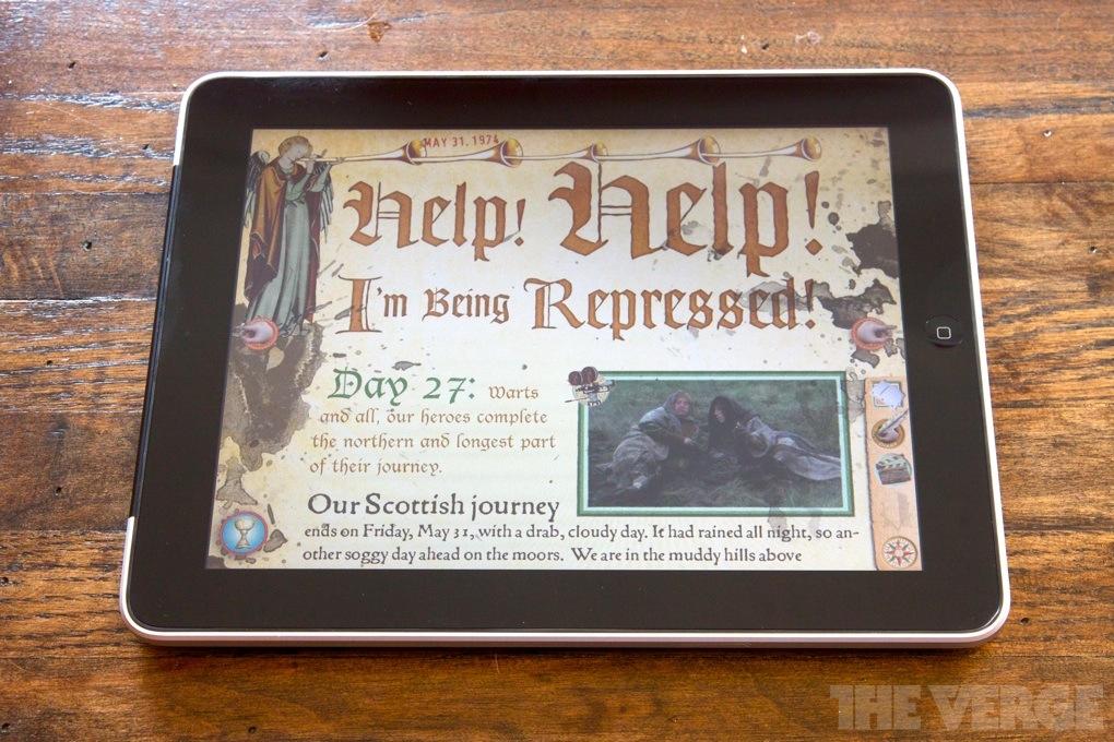 Monty Python iPad app