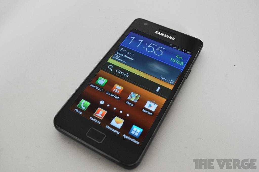Samsung galaxy s ii touchwiz android 4