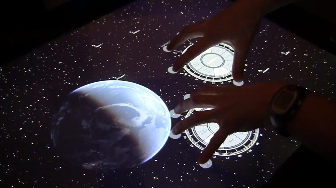 Microsoft Surface 2.0 NUIverse Earth