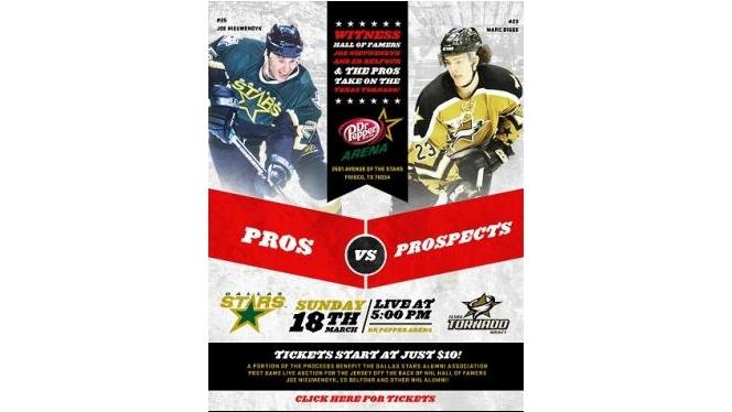 Pros v Prospects VI - Sunday, March 18th @5pm!