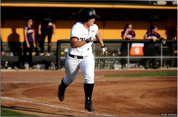 """Dak Dillon photo via <a href=""""http://www.mutigers.com/sports/w-softbl/recaps/032812aaa.html"""" target=""""new"""">MUtigers.com</a>."""
