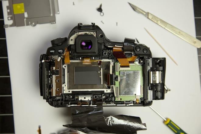 Canon 5D Mark III teardown