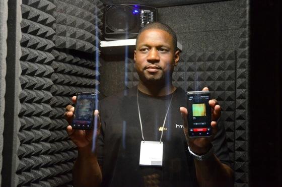 HTC Evo 4G LTE HD voice test