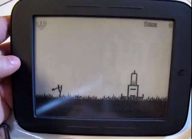 Nook Simple Touch Angry Birds