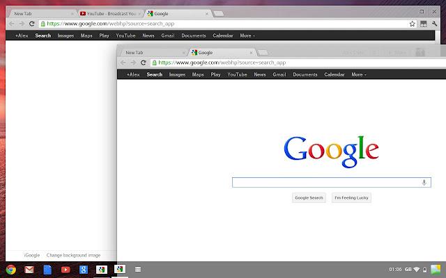 google chrome os aura