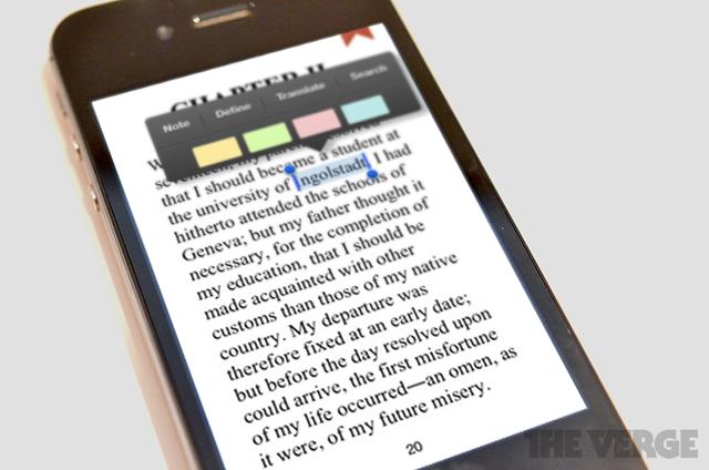 Google Play Books iOS