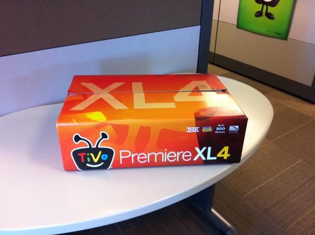 TiVo Premiere XL4 (ZATZ NOT FUNNY)