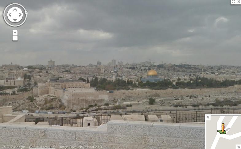 Google Street View Jerusalem