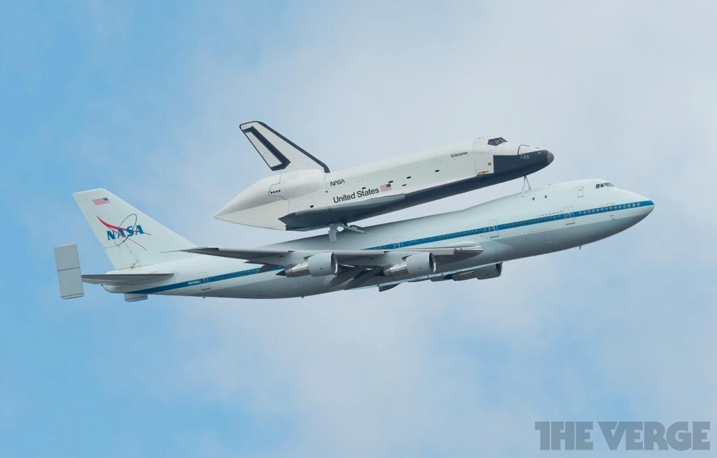 NASA shuttle Enterprise