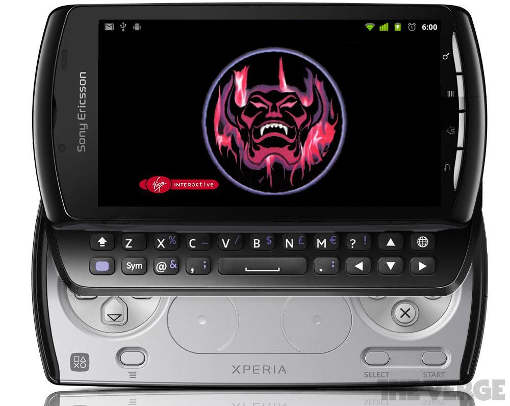 Xperia Nexus mockup